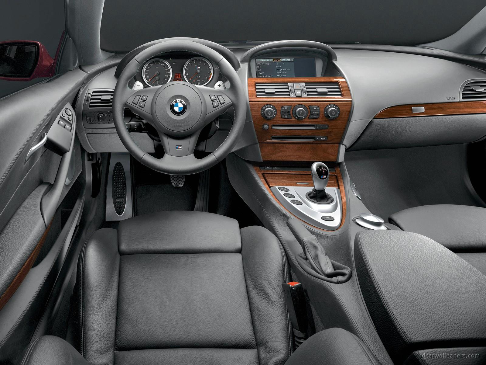 bmw m6 interior wallpaper | hd car wallpapers | id #309