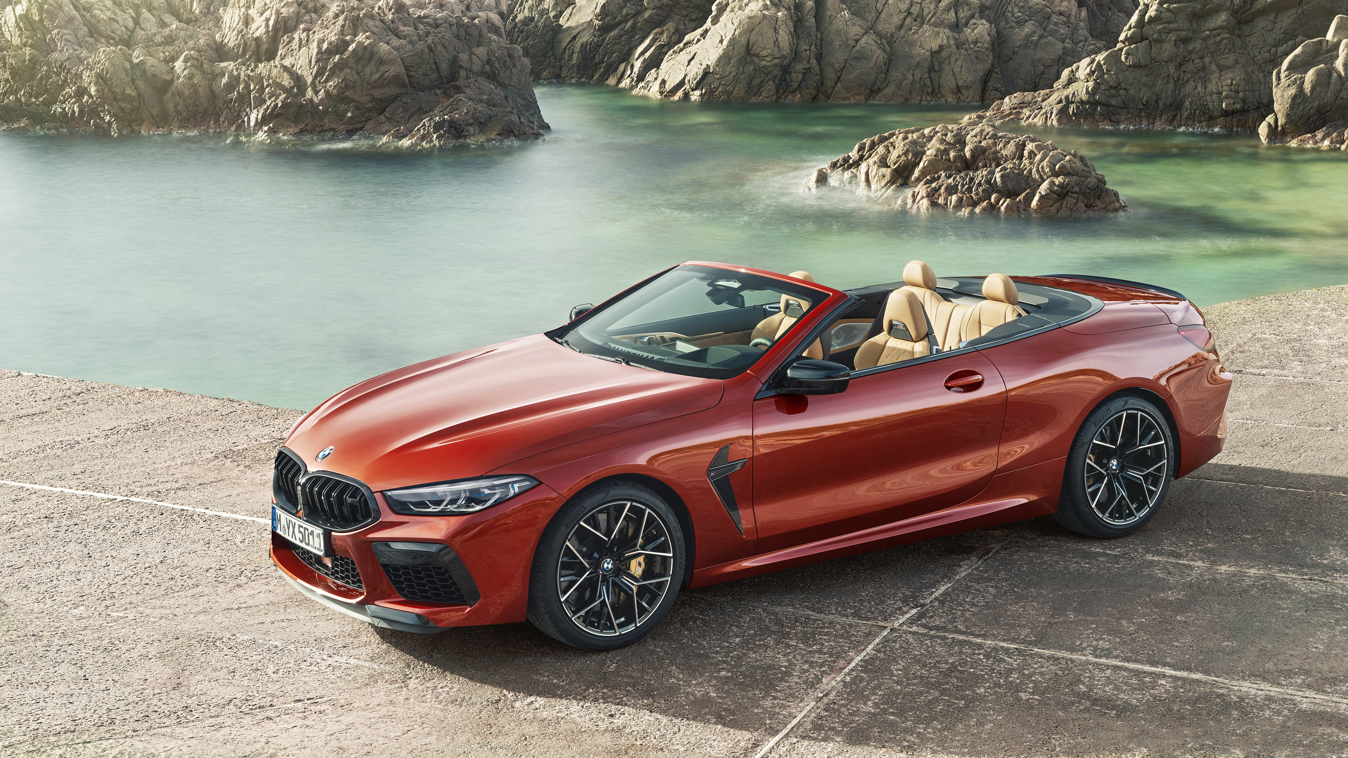 Bmw M8 Competition Cabrio 2019 4k Wallpaper Hd Car Wallpapers Id