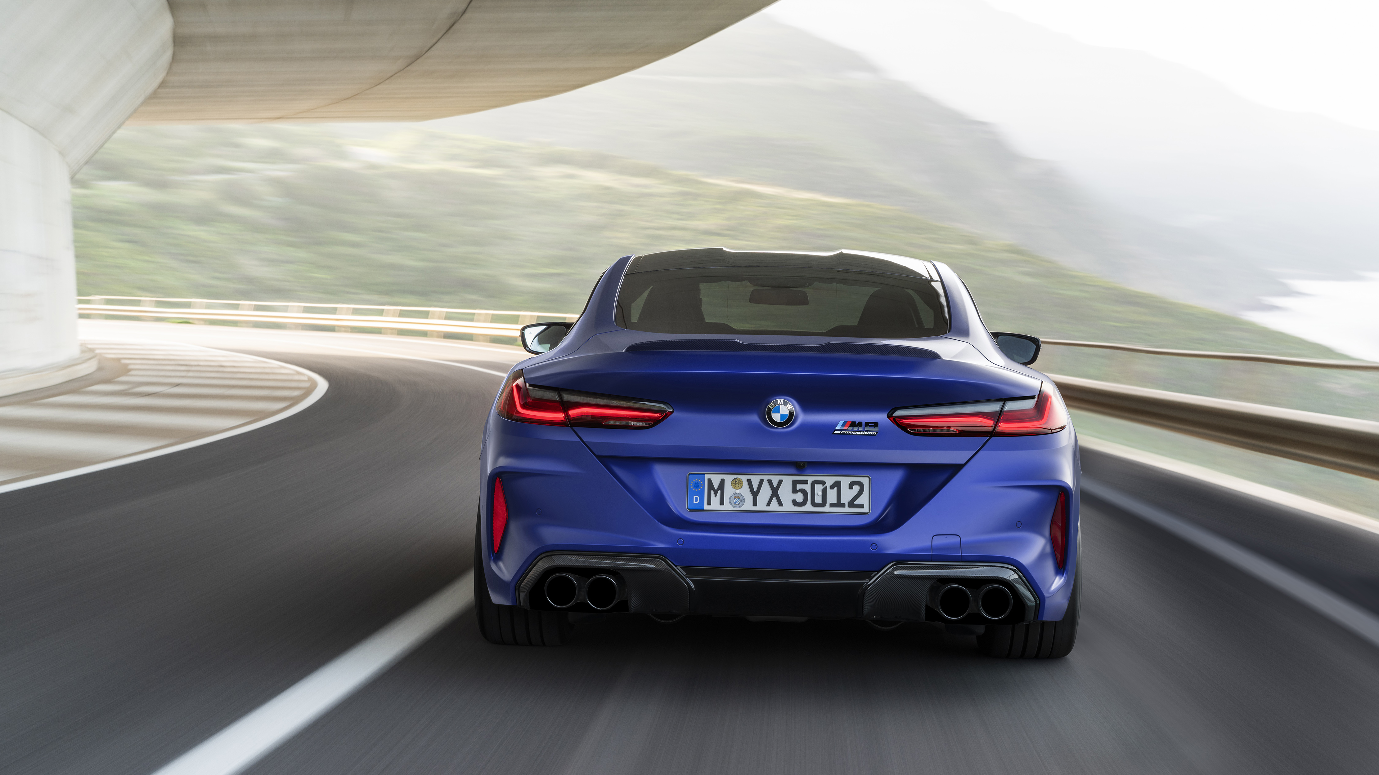 BMW M8 Competition Coupe 2019 4K 4 Wallpaper | HD Car ...