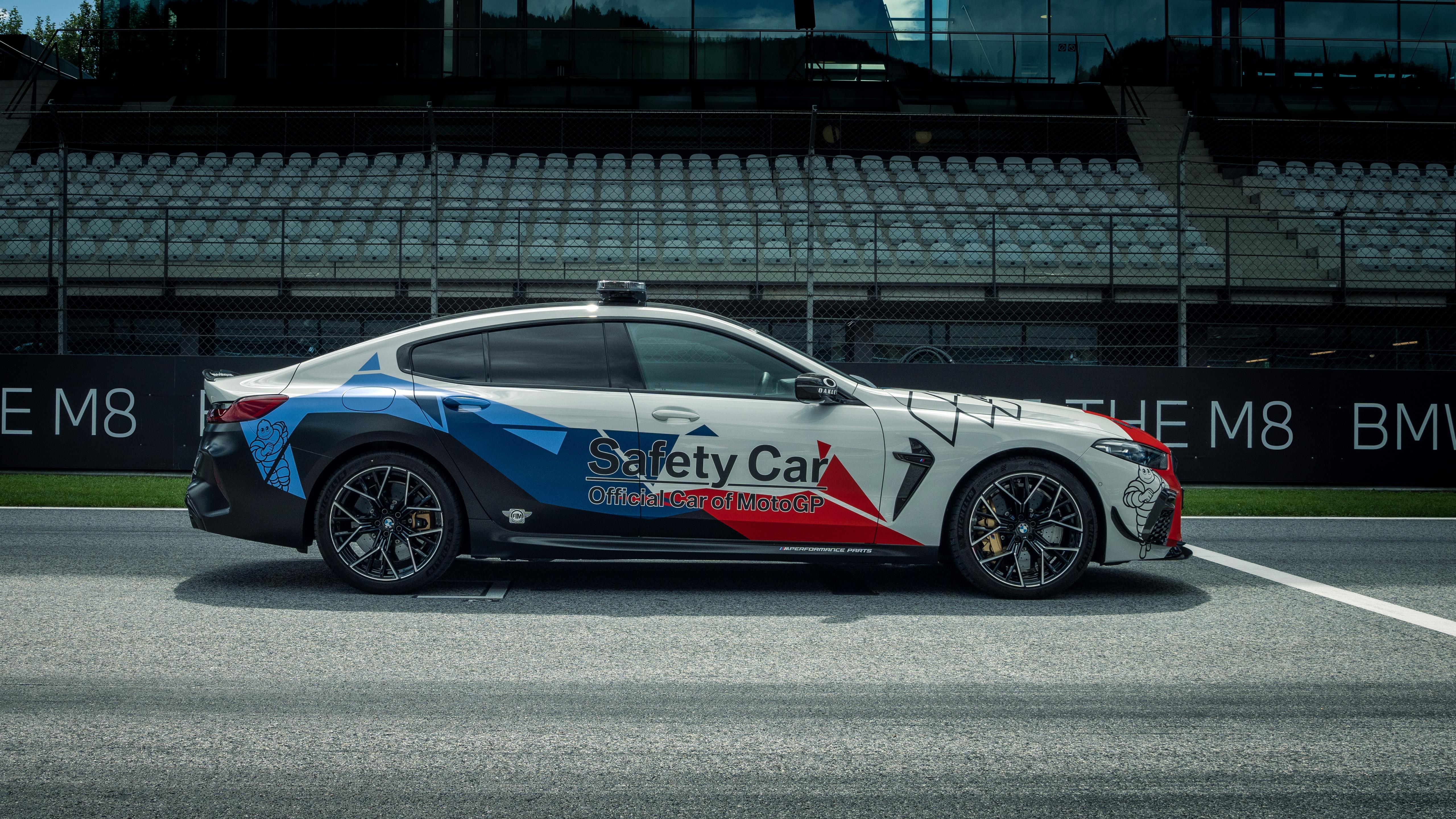 bmw m8 competition gran coupé motogp safety car 2020 5k