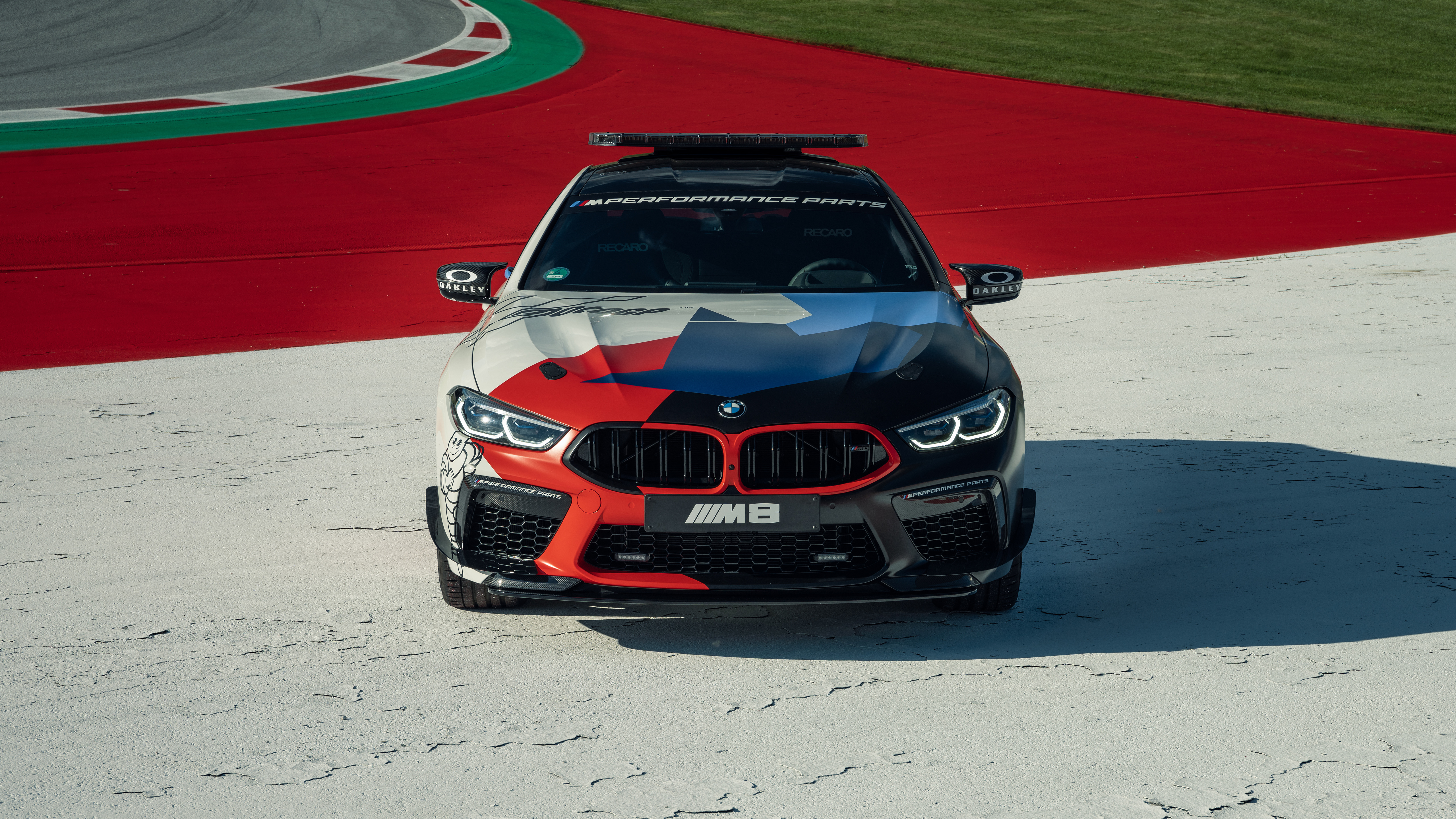 Bmw M8 Competition Gran Coupe Motogp Safety Car 2020 5k 3 Wallpaper Hd Car Wallpapers Id 15598
