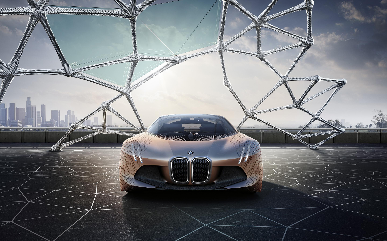 BMW Vision Next 100 Future Car 4K