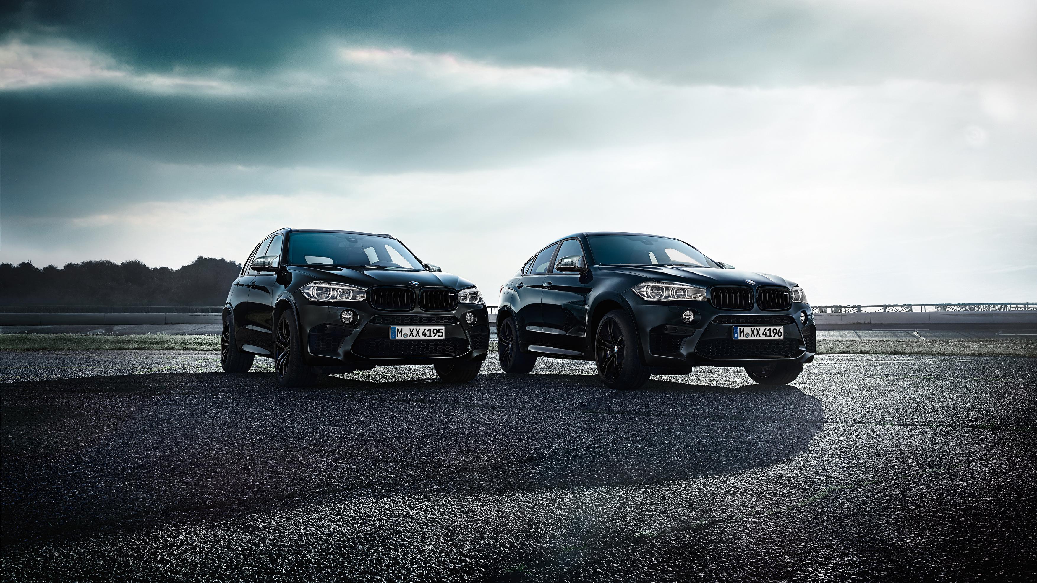 BMW X5 and X6 M Edition Black Fire 2017 Wallpaper | HD Car ...
