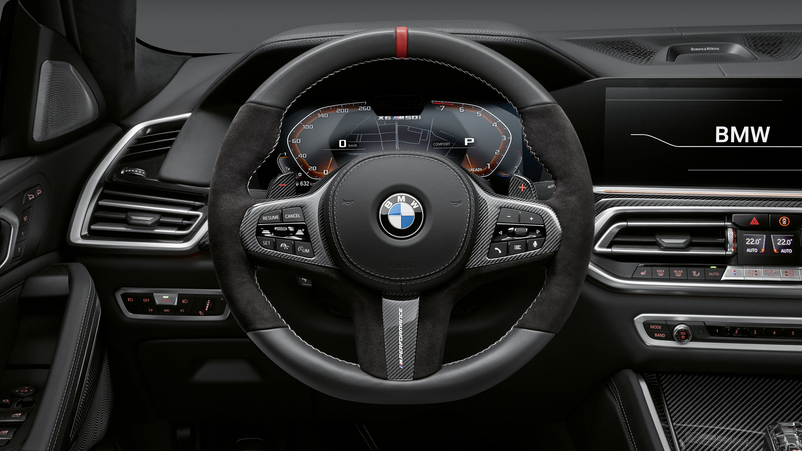 Bmw X6 M Performance Parts 2019 Interior Wallpaper Hd