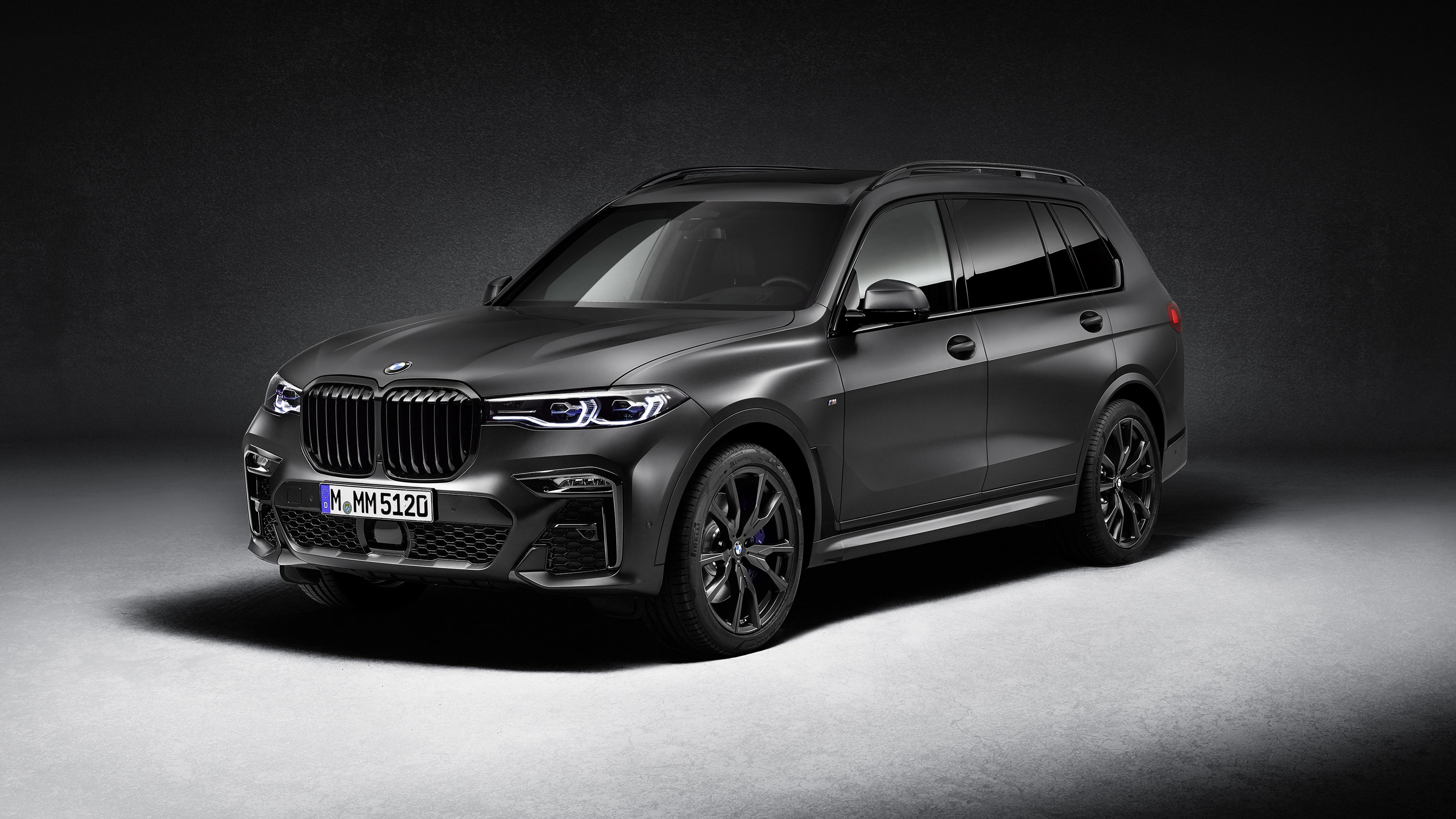 BMW X7 M50i Edition Dark Shadow 2020 4K Wallpaper | HD Car ...