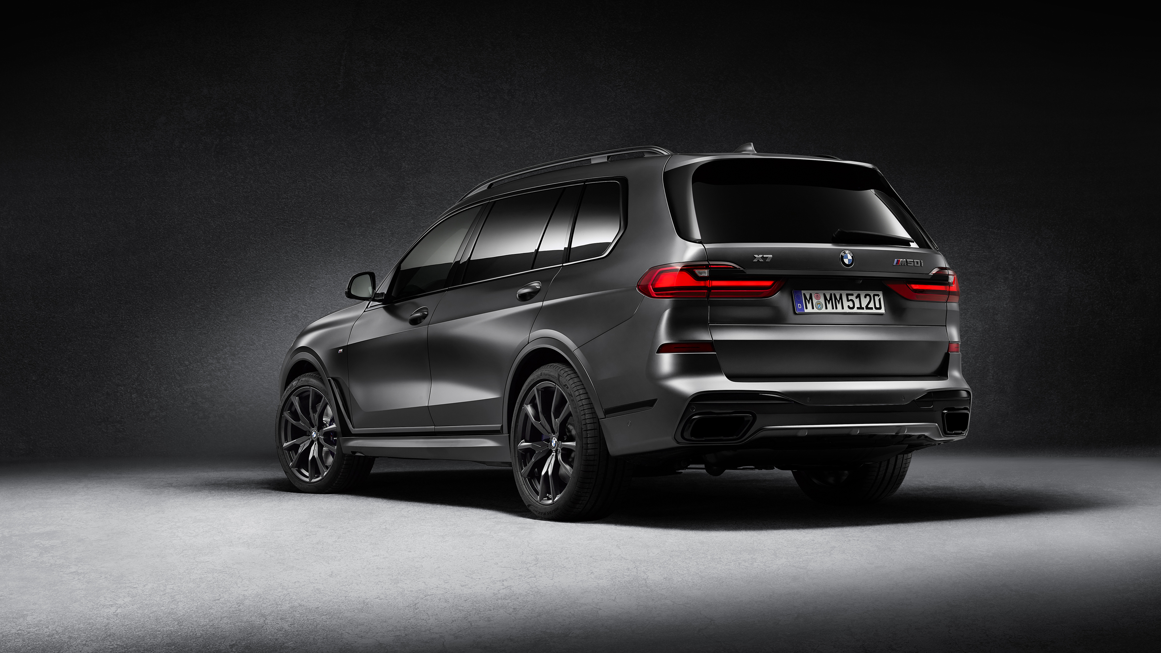 Bmw X7 M50i Edition Dark Shadow 2020 4k 2 Wallpaper Hd Car Wallpapers Id 15371