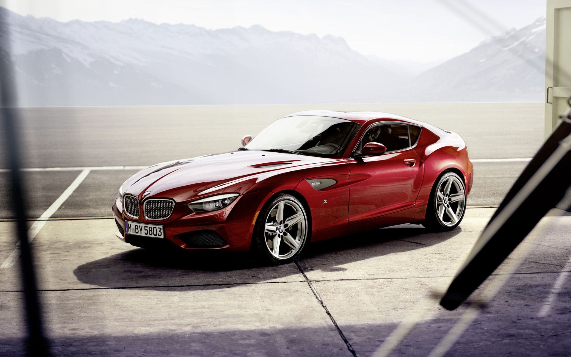 Bmw Z4 Zagato Wallpaper Hd Car Wallpapers Id 2726