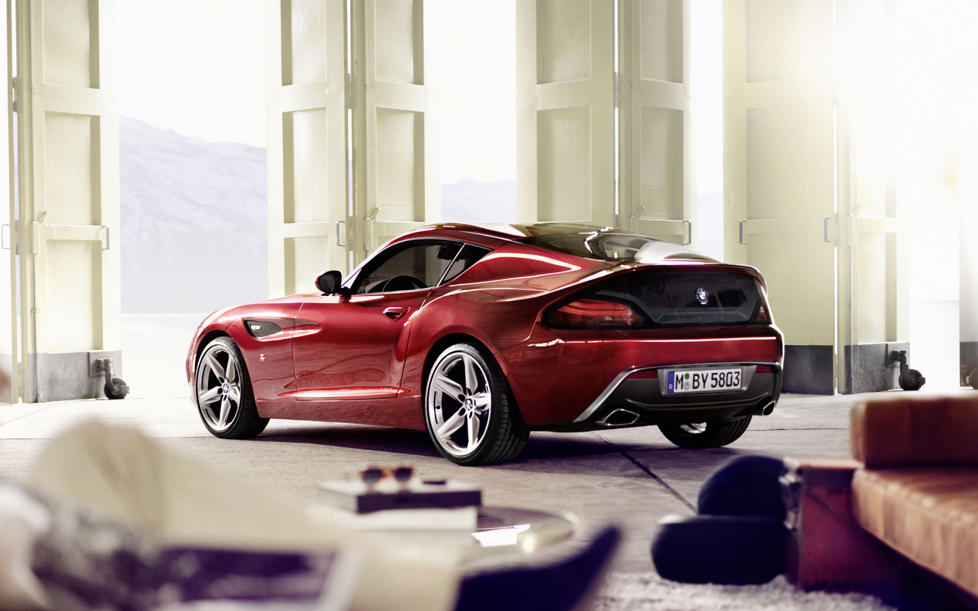 Bmw Z4 Zagato 3 Wallpaper Hd Car Wallpapers Id 2725
