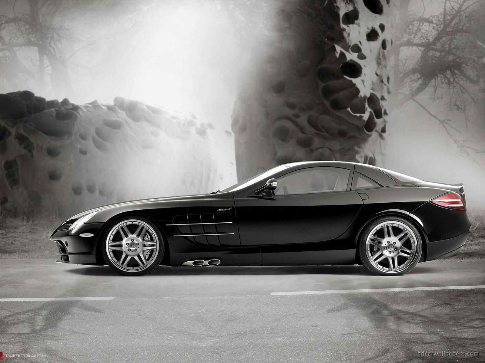 Brabus Mercedes Benz Slr Mclaren Wallpaper Hd Car Wallpapers Id