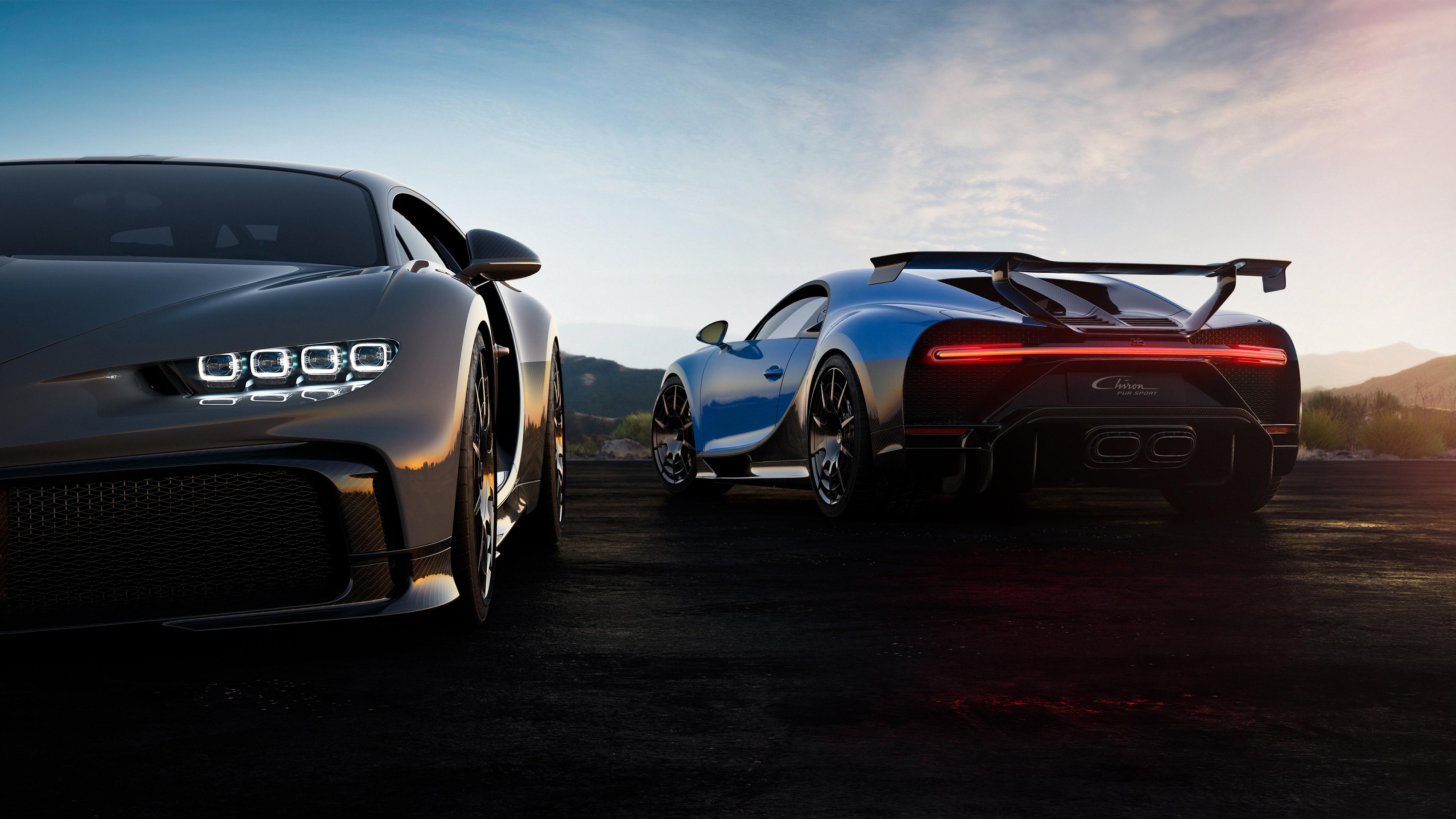 Bugatti Chiron Pur Sport 2020 4k 5 Wallpaper Hd Car Wallpapers Id 14508