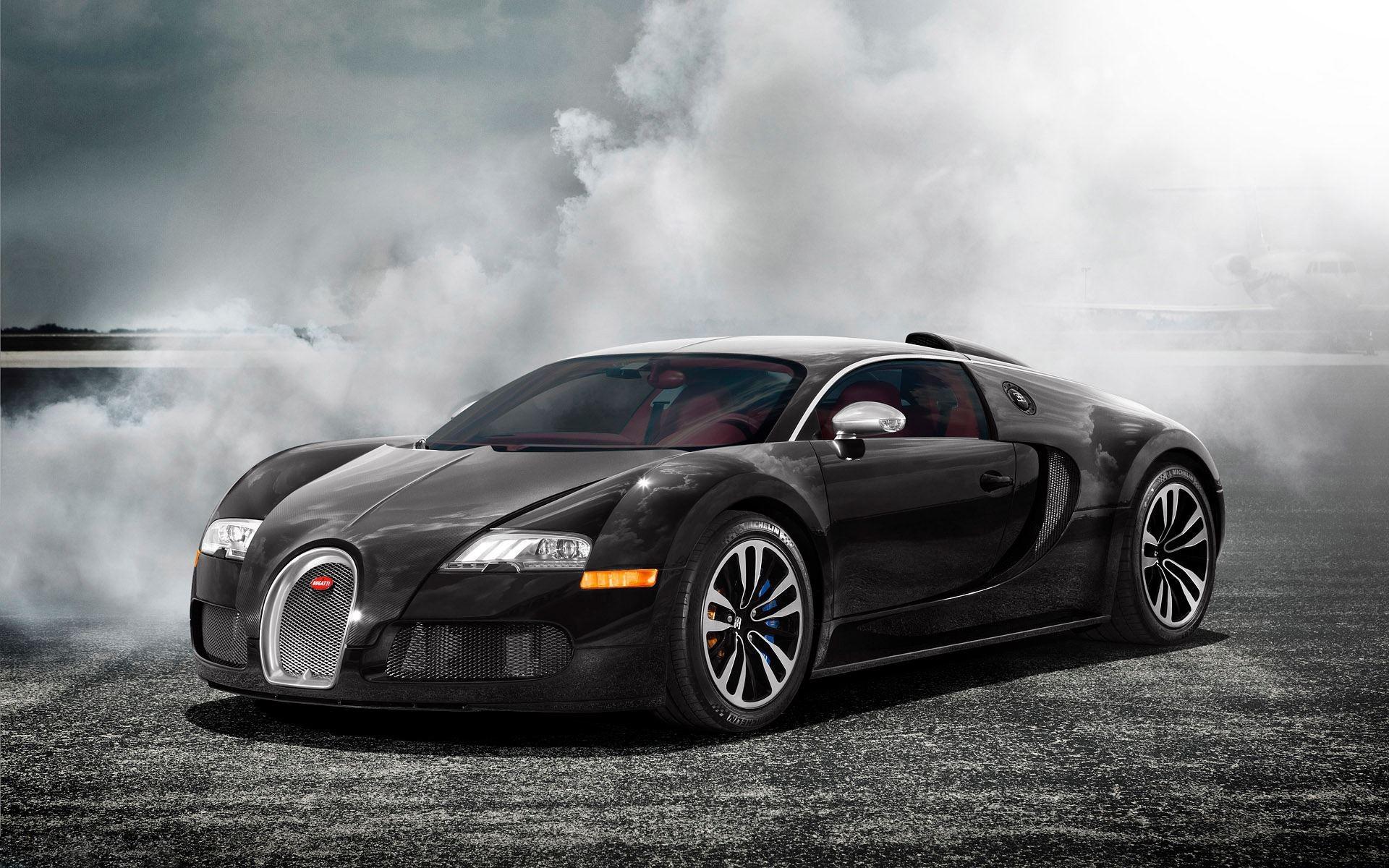 bugatti veyron sang noir wide