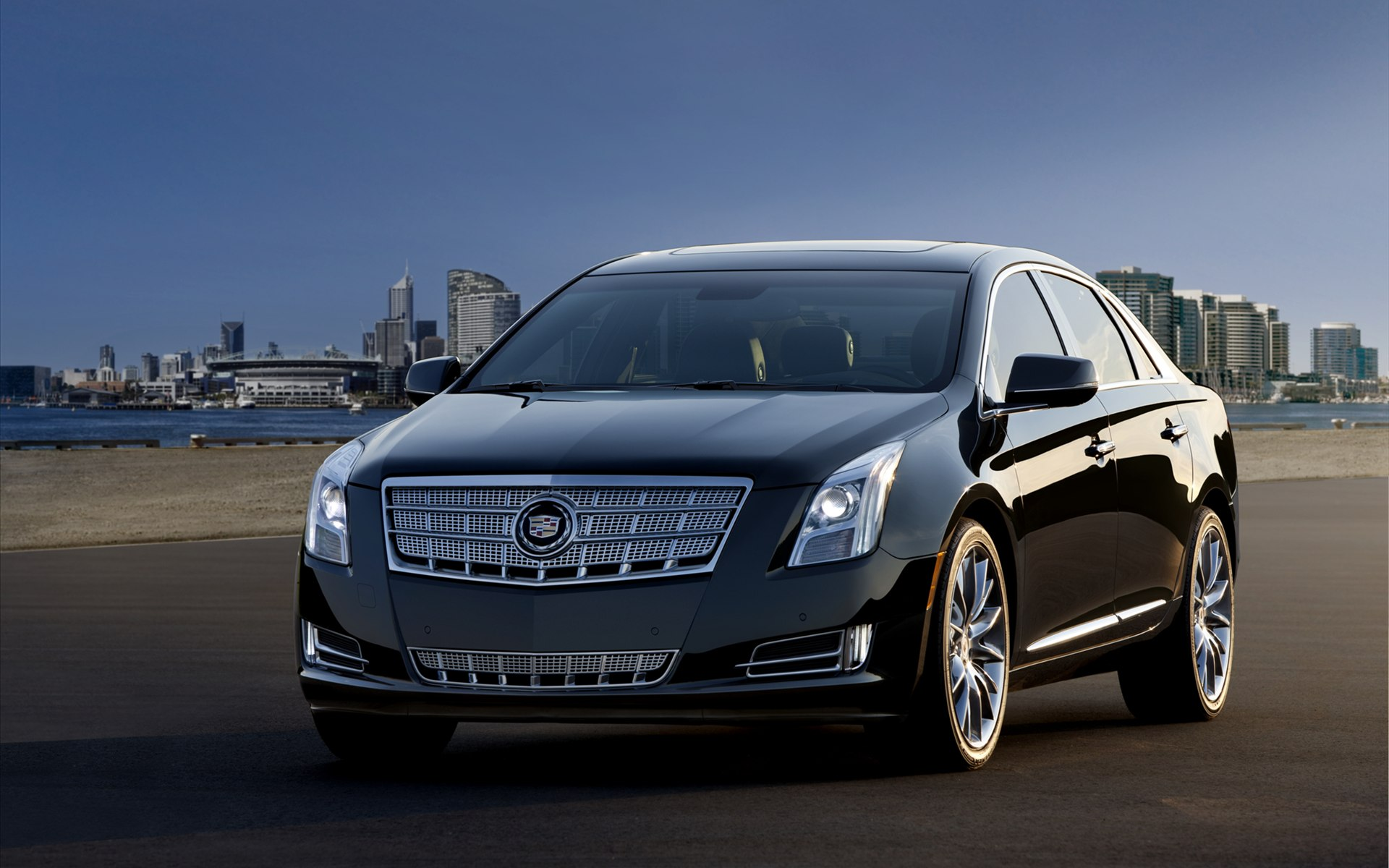 cadillac xts 2013 wallpaper hd car wallpapers id 2345. Black Bedroom Furniture Sets. Home Design Ideas