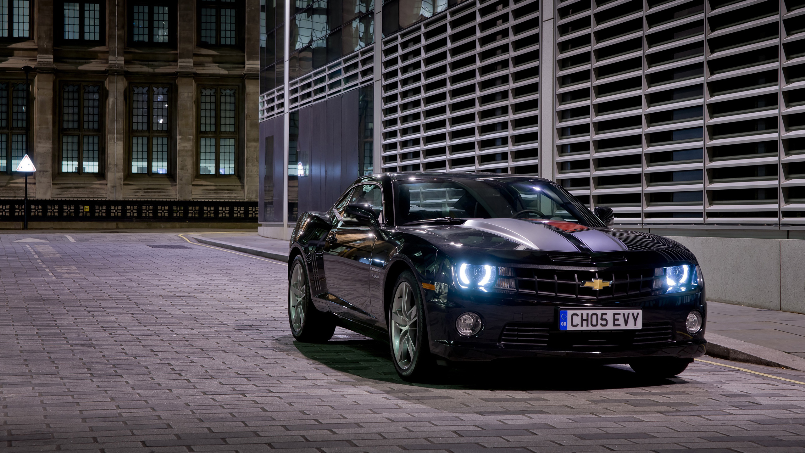 Chevrolet Camaro Black Wallpaper Hd Car Wallpapers Id