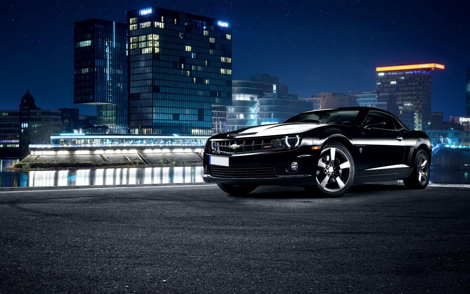 chevrolet camaro ss black wallpaper | hd car wallpapers | id #5773