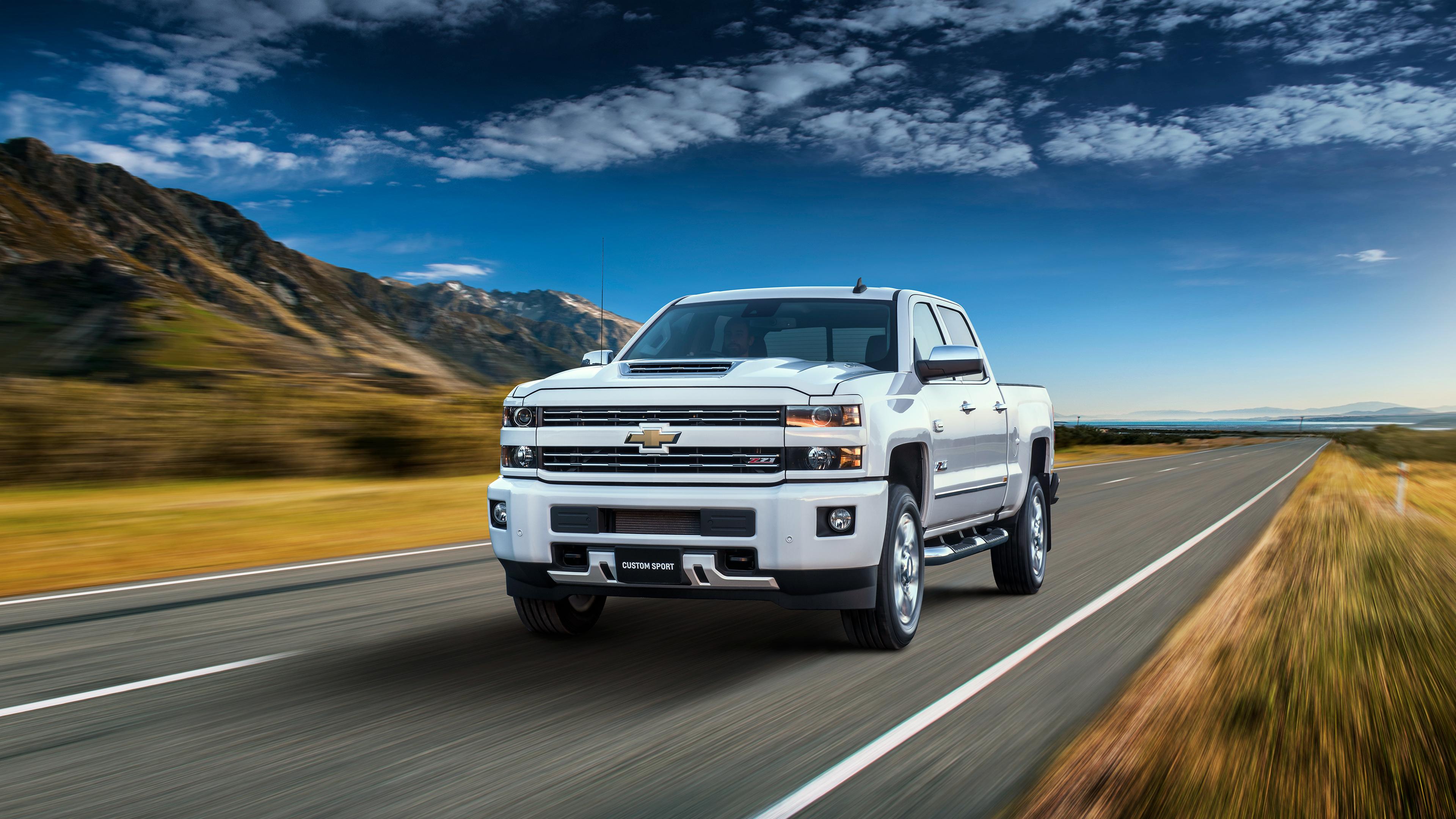 Chevrolet Silverado 2500 Hd Ltz Custom Sport Crew Cab 2018 4k