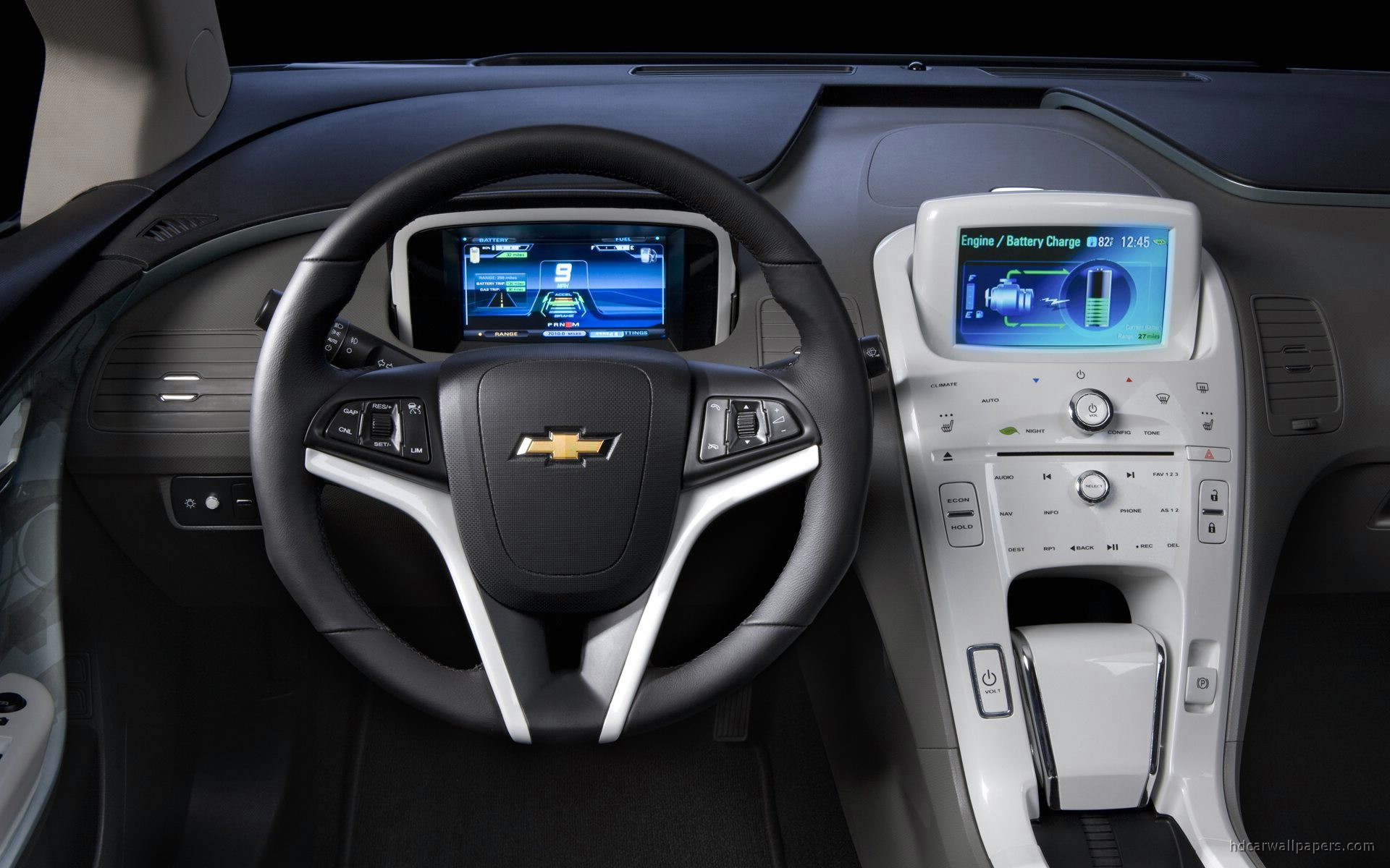 Tags: Interior Chevrolet Volt