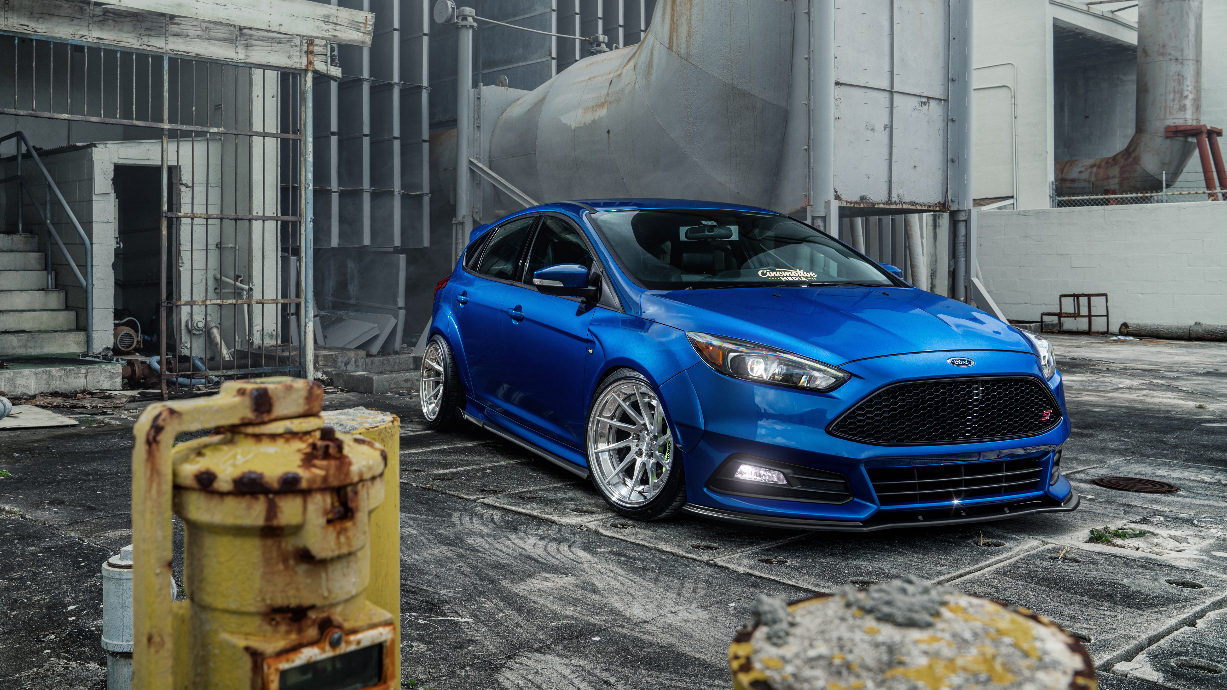 Cinemotive Ford Focus St 5k Wallpaper Hd Car Wallpapers