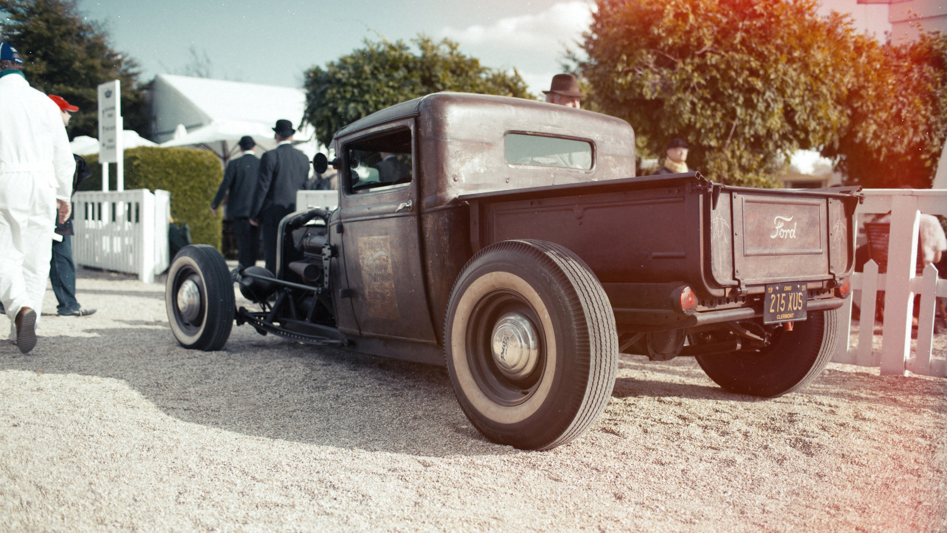 Classic Ford Hot Rod Wallpaper | HD Car
