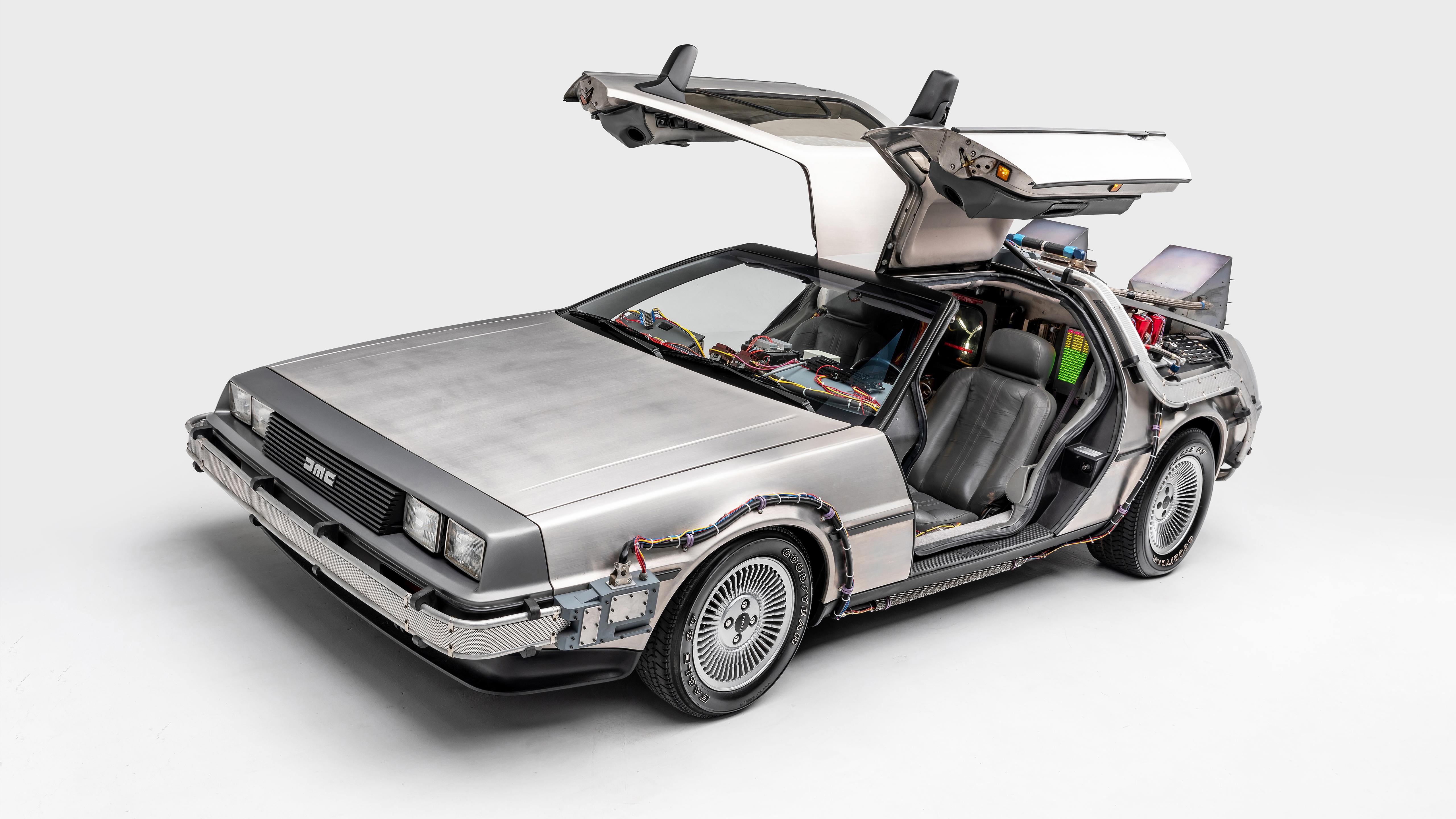 Delorean Dmc 12 Back To The Future 4k 2 Wallpaper Hd Car