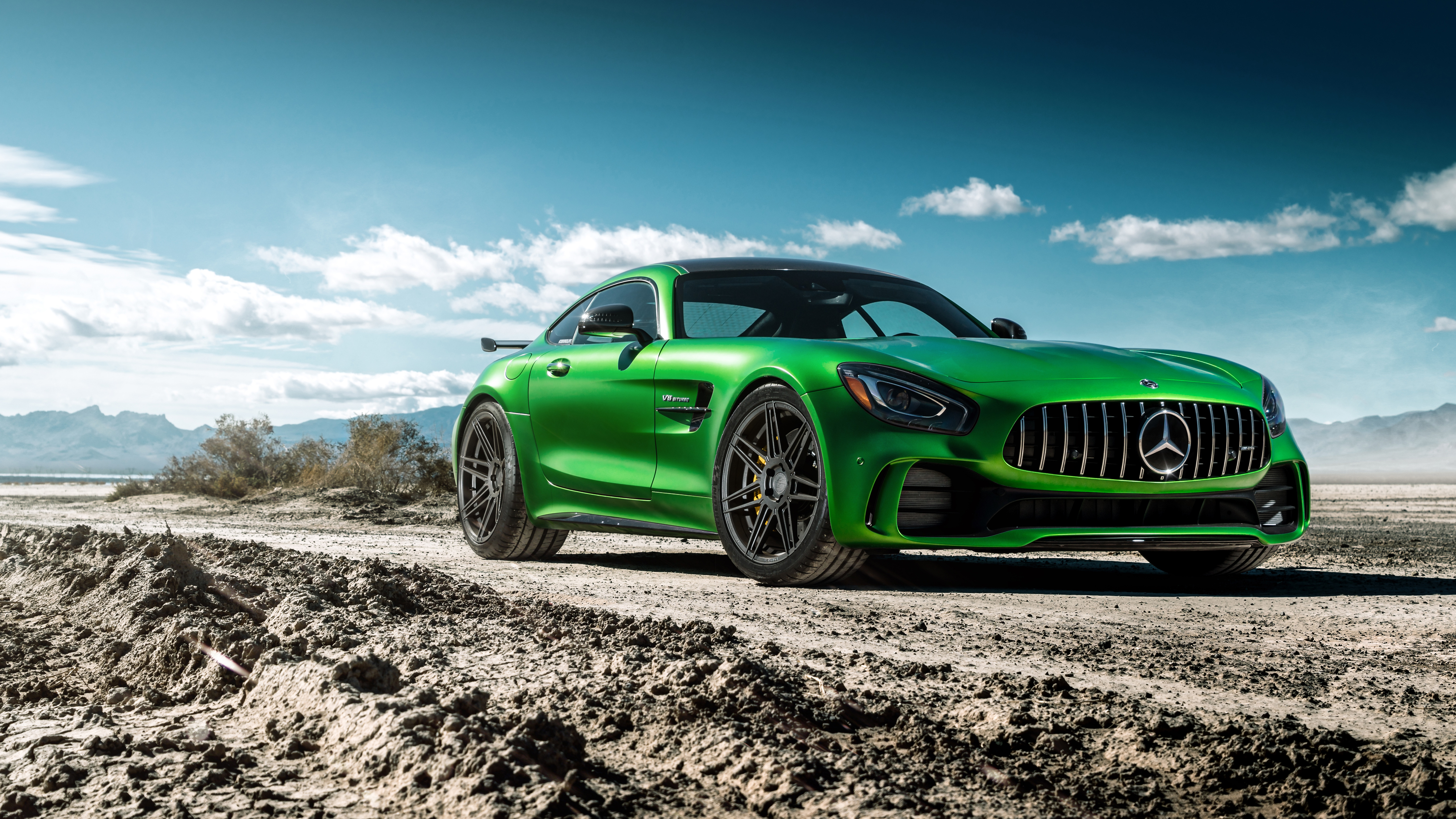 Ferrada Sema Green Mercedes GTR 5K Wallpaper | HD Car ...