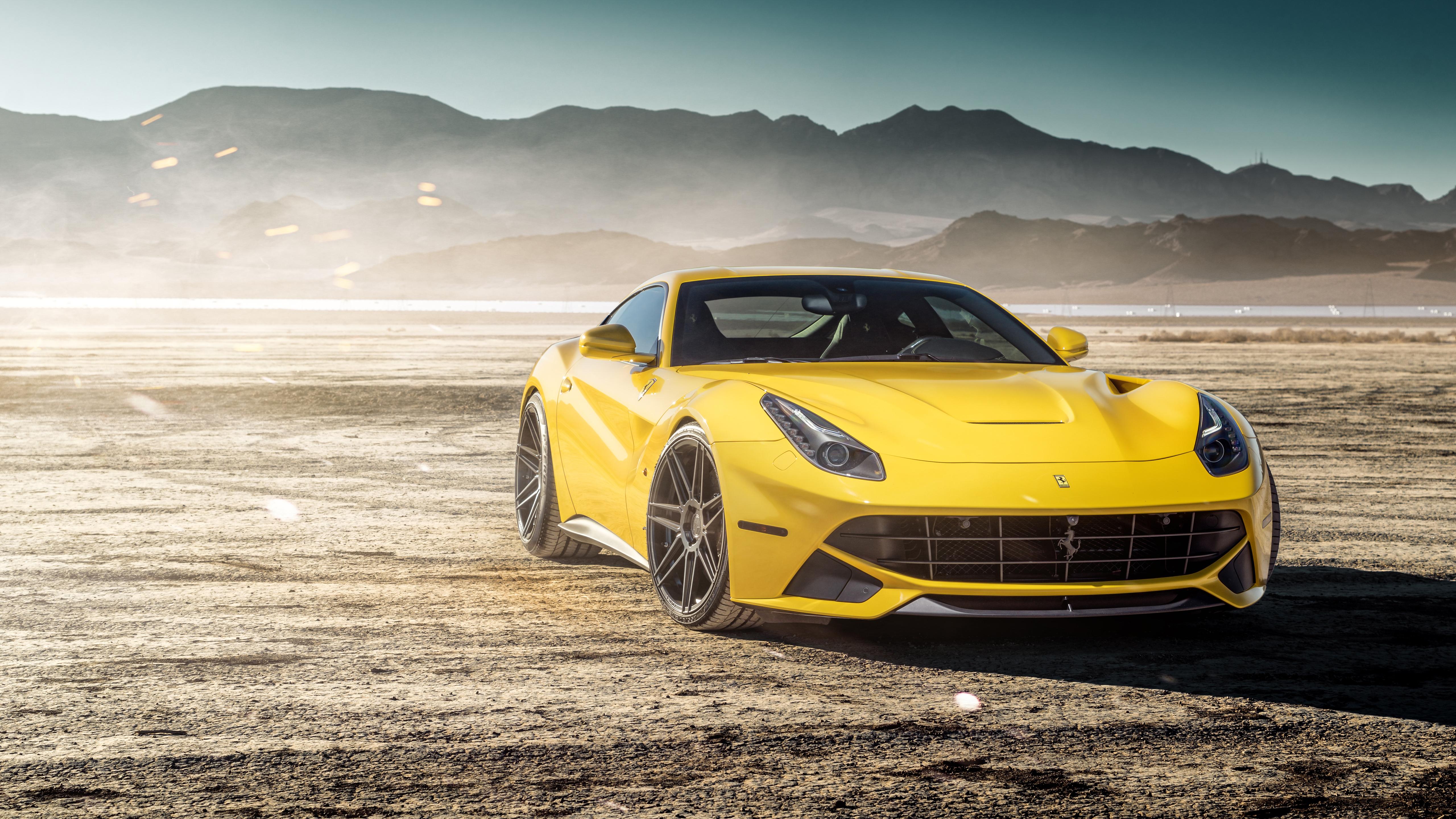 Ferrada Sema Yellow Ferrari F12 5k Wallpaper Hd Car Wallpapers Id 9477