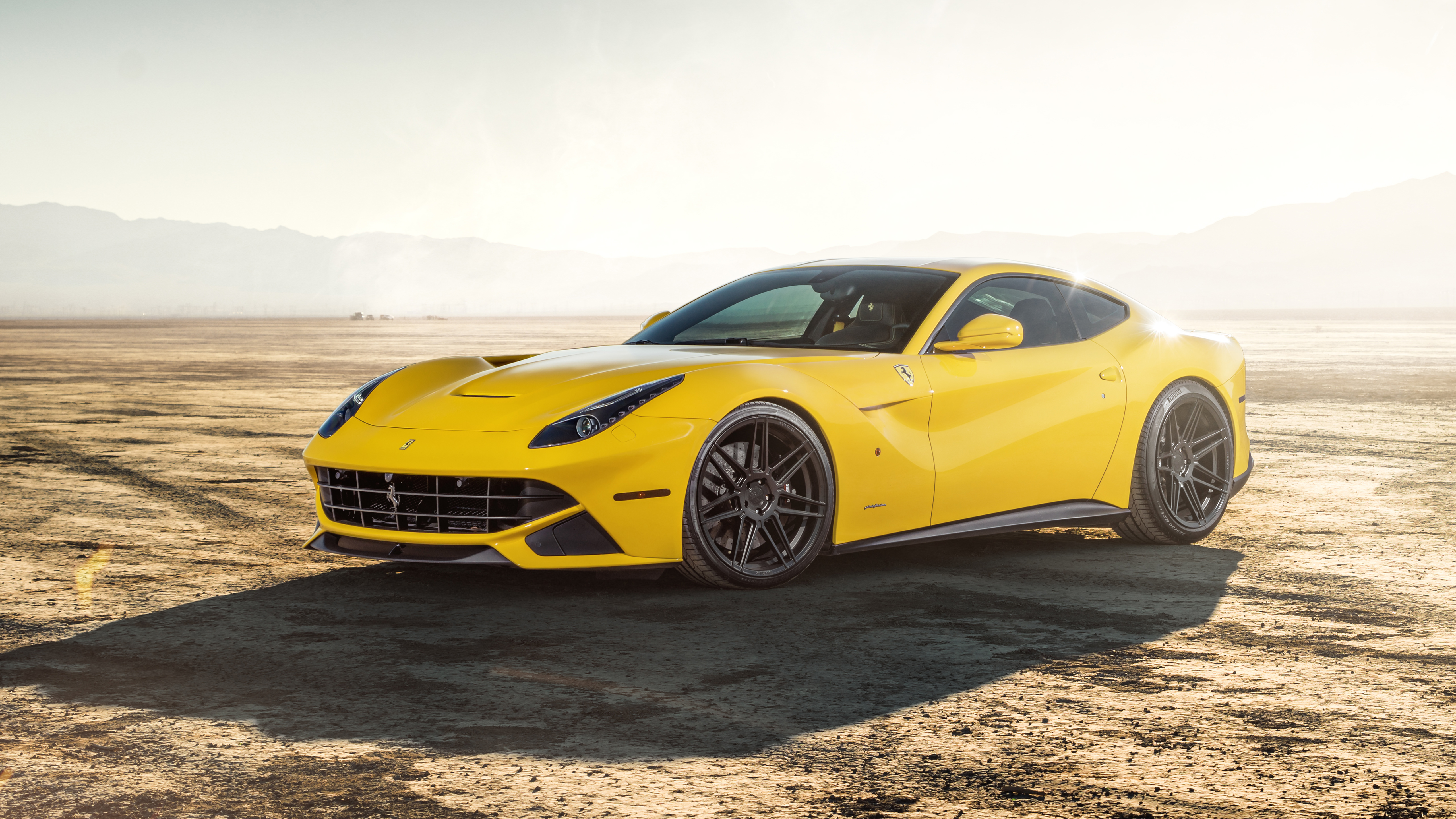 Ferrada Sema Yellow Ferrari F12 5k 2 Wallpaper Hd Car