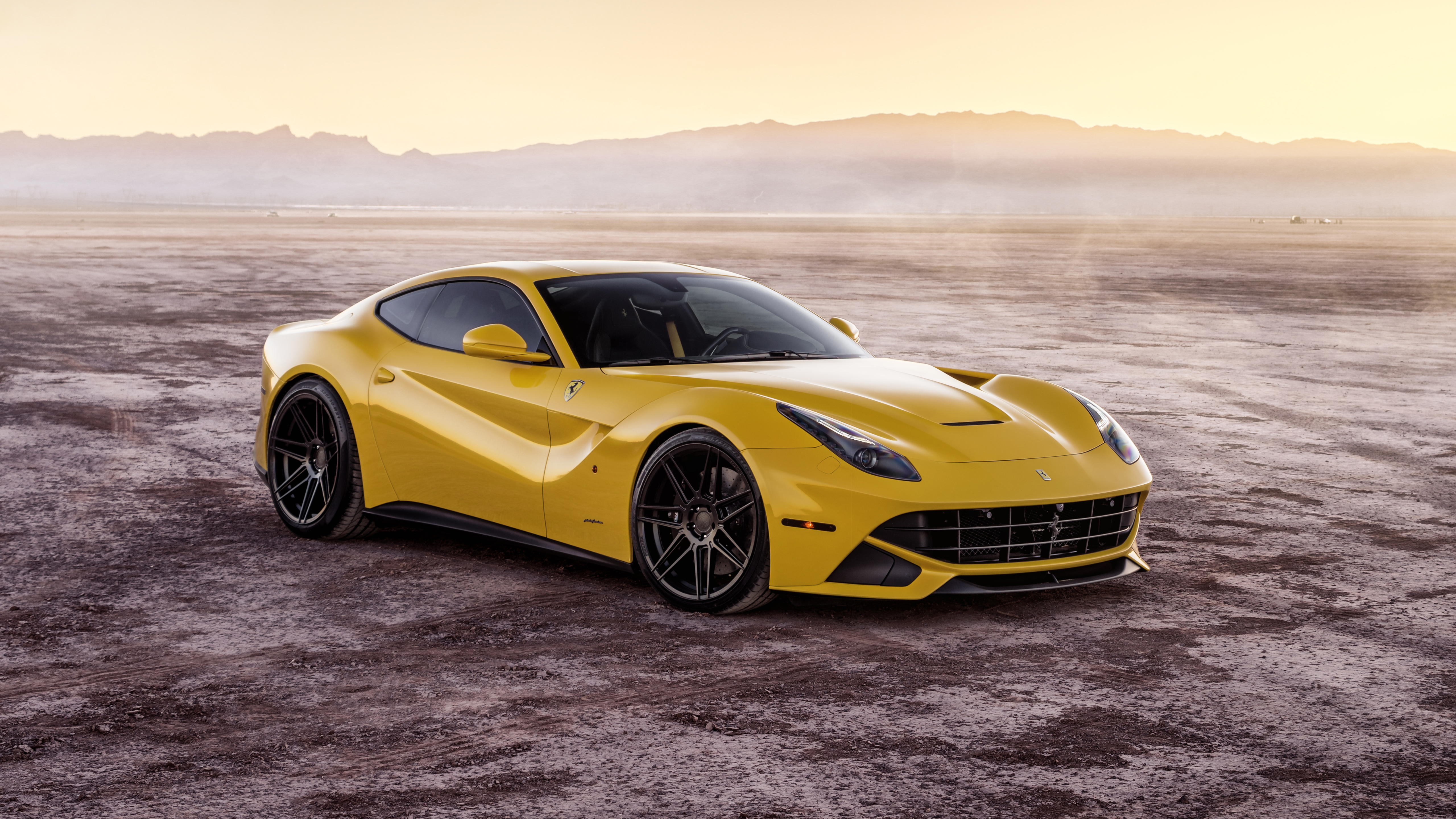 Ferrada Sema Yellow Ferrari F12 5k 3 Wallpaper Hd Car