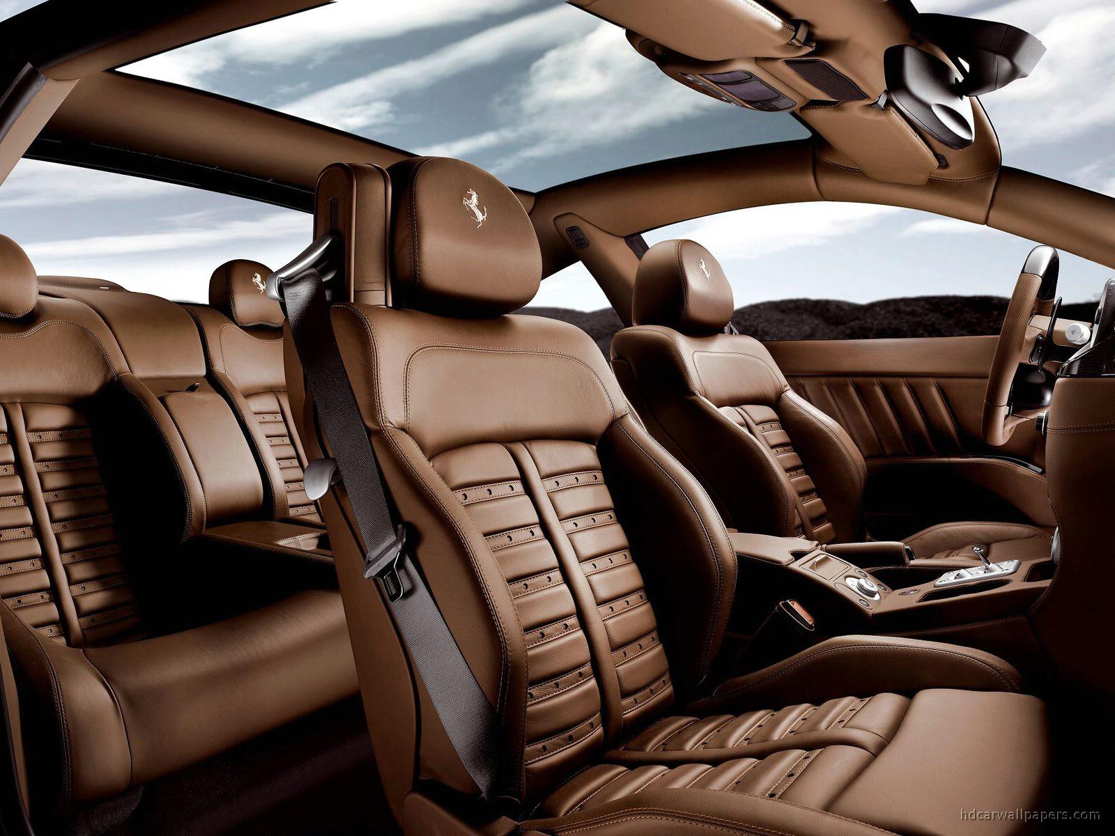 ferrai 612 scaglietti black interior wallpaper hd car wallpapers id 741. Black Bedroom Furniture Sets. Home Design Ideas