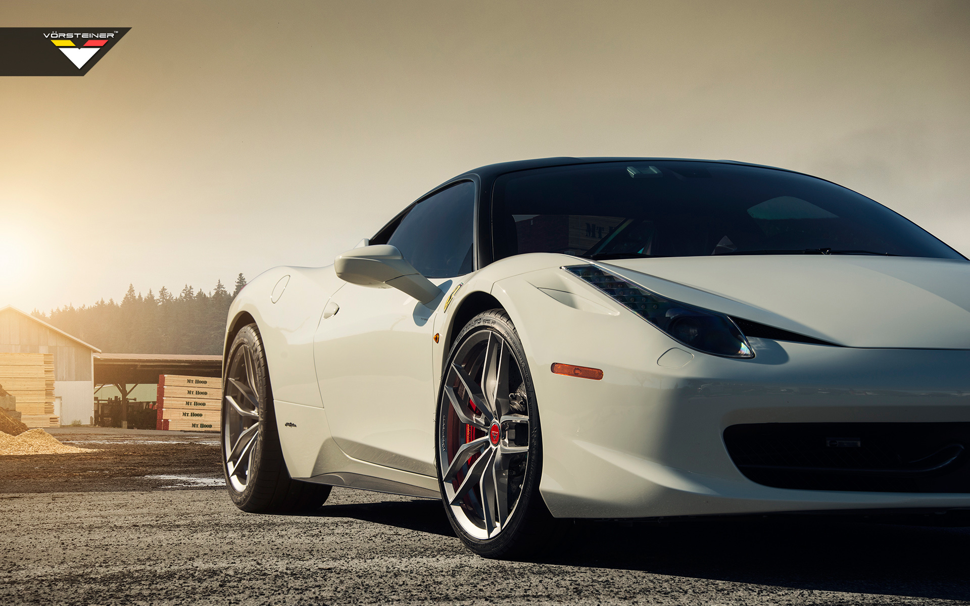Great Ferrari 458 Italia Vorsteiner V FF 105 Wheels4 Amazing Design