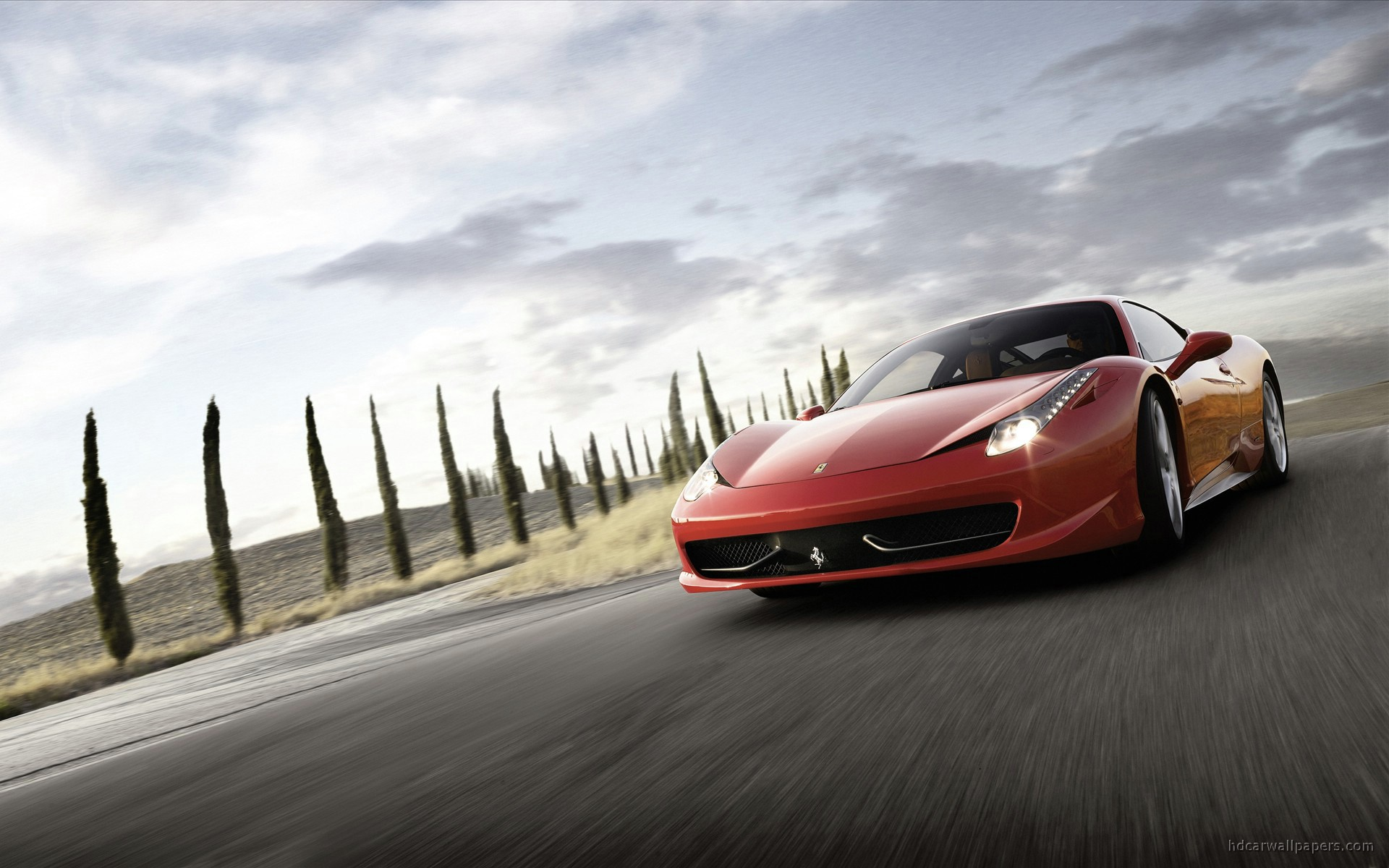 Ferrari Italia Supercar Wallpaper Hd Car Wallpapers