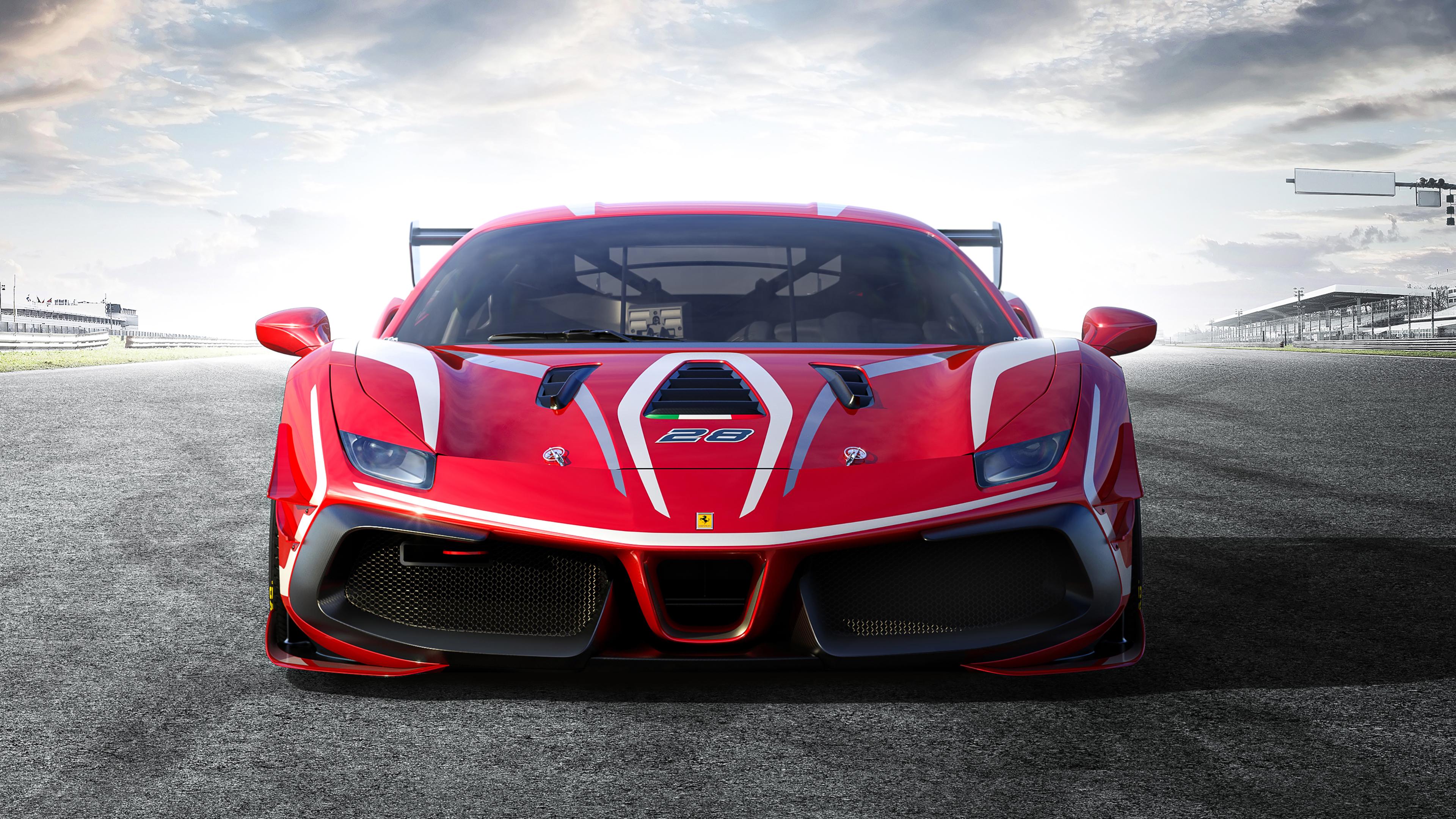 Ferrari 488 Challenge Evo 2020 4k Wallpaper Hd Car Wallpapers Id 13723