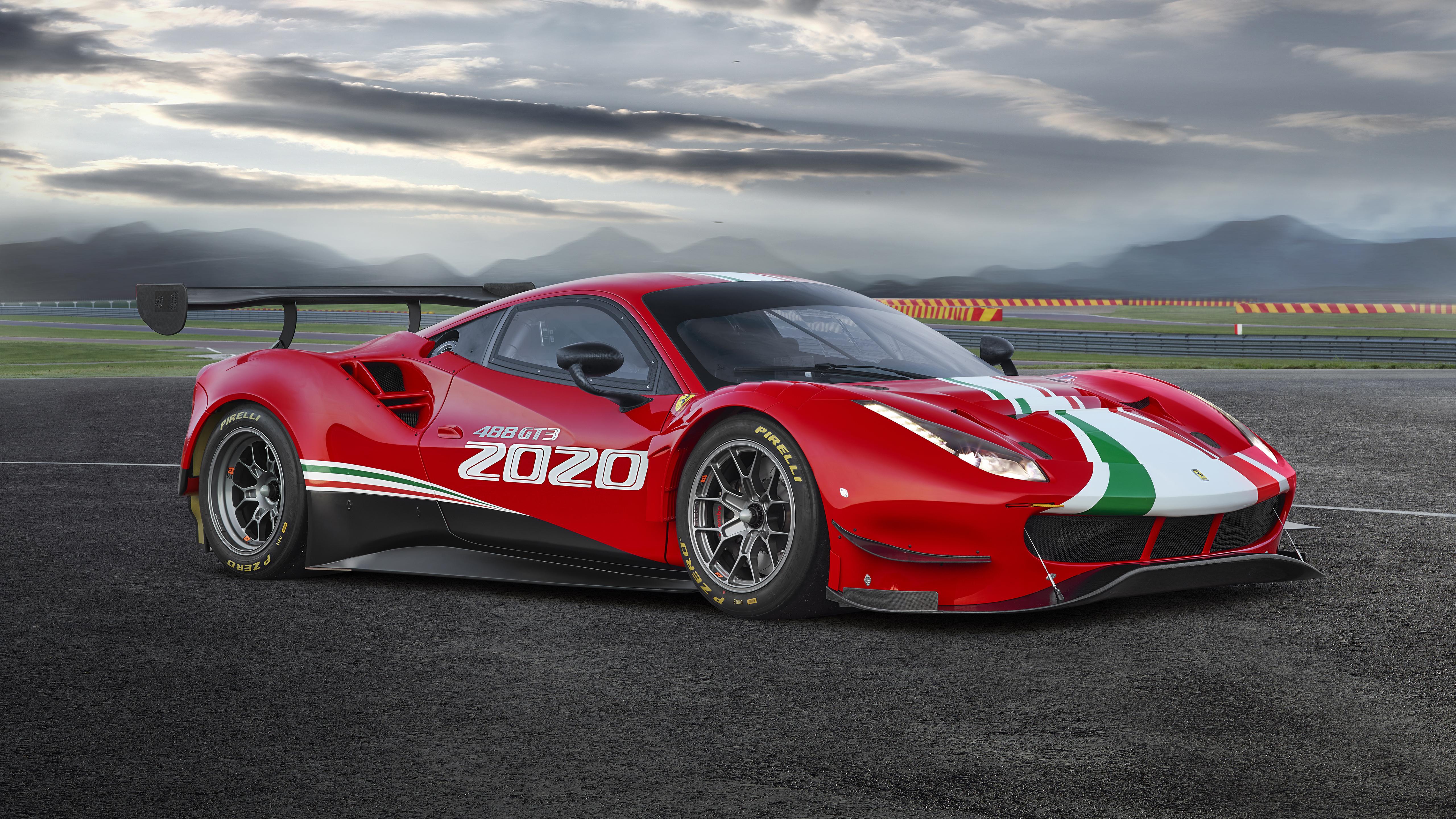 Ferrari 488 Gt3 Evo 2020 5k Wallpaper Hd Car Wallpapers Id 13547