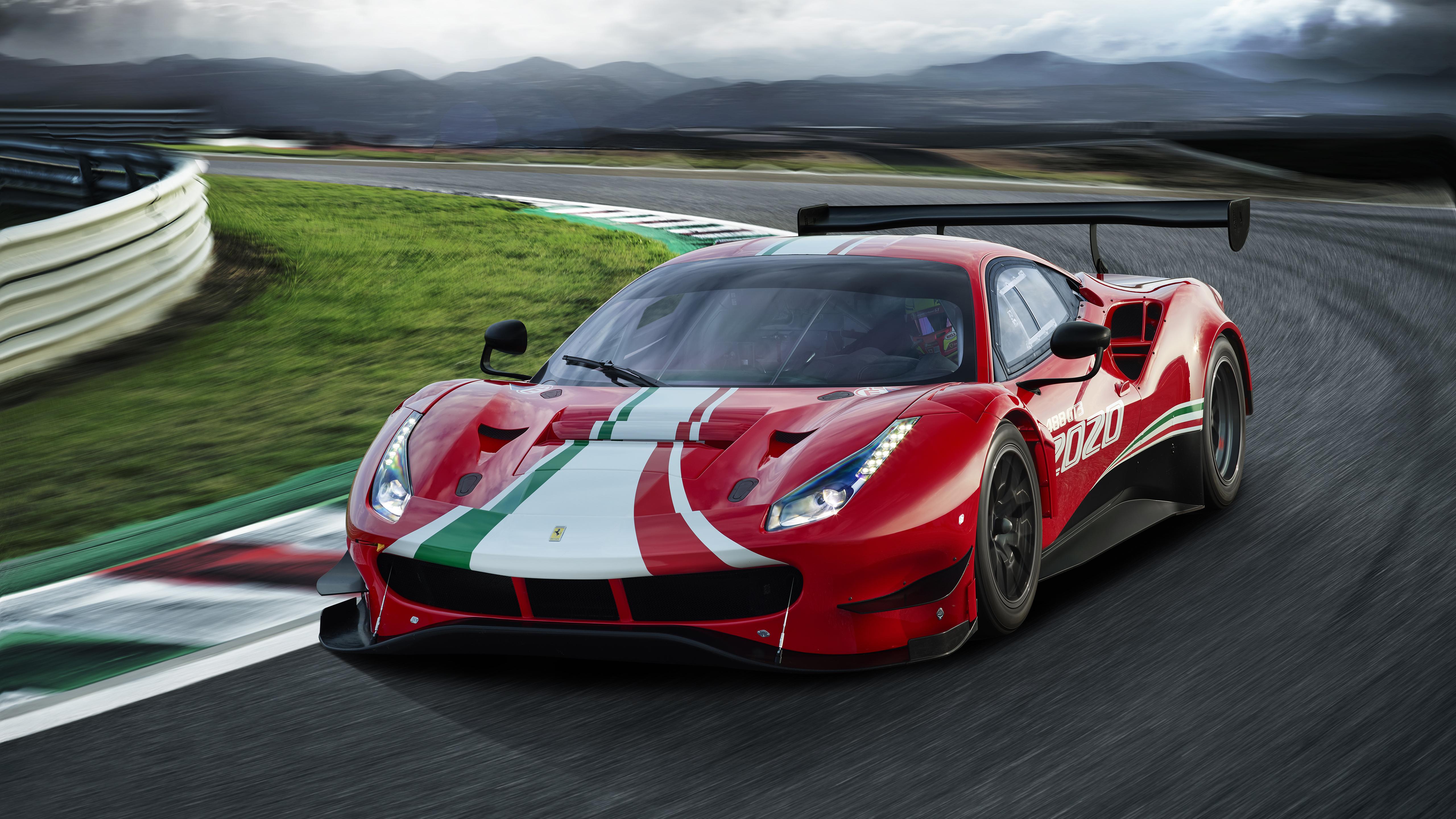 Ferrari 488 Gt3 Evo 2020 5k 2 Wallpaper Hd Car Wallpapers Id 13544