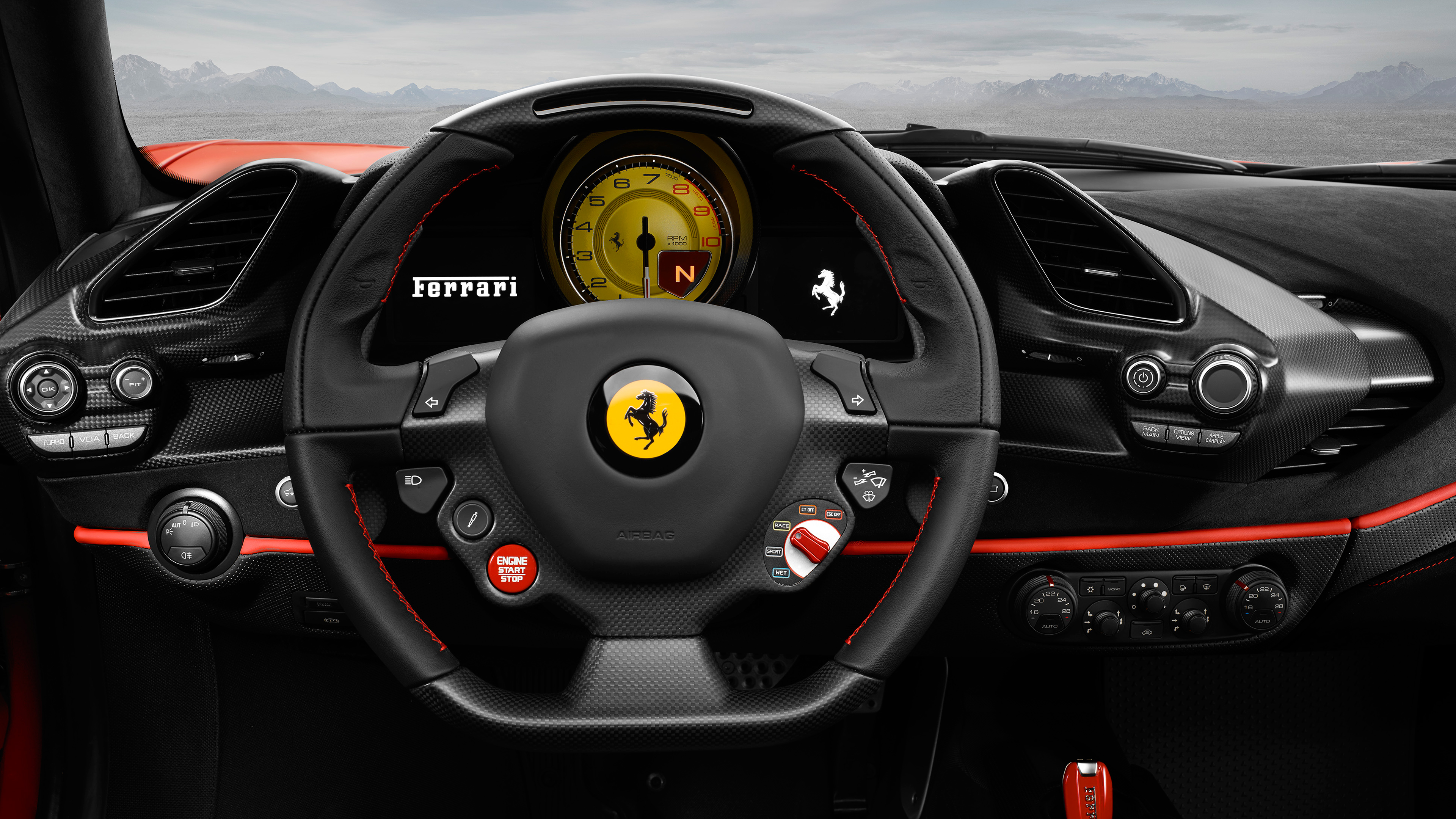 ferrari 488 pista 4k 2018 3 wallpaper hd car wallpapers id 9796. Black Bedroom Furniture Sets. Home Design Ideas
