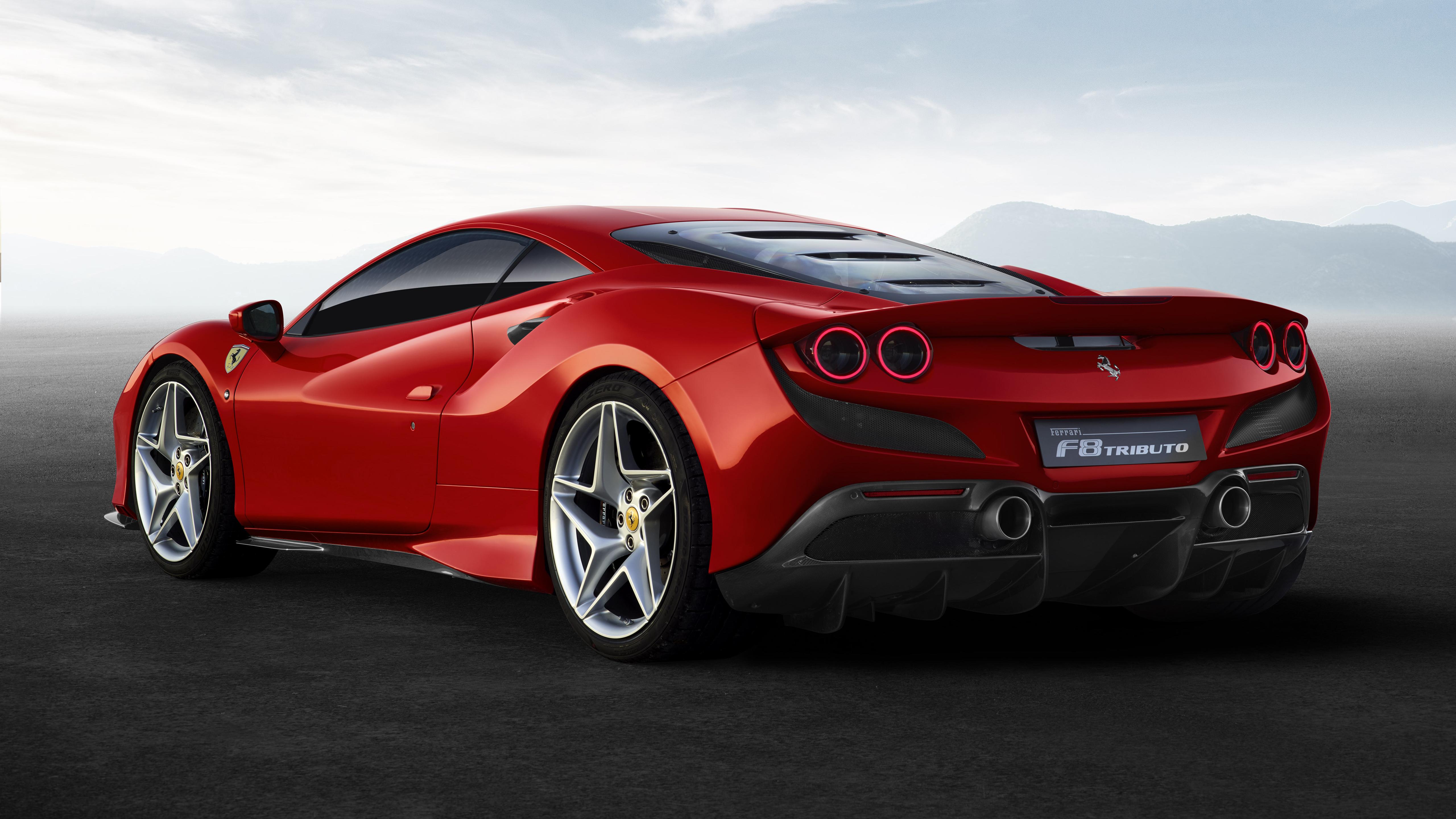 Ferrari Car Wallpaper 4K