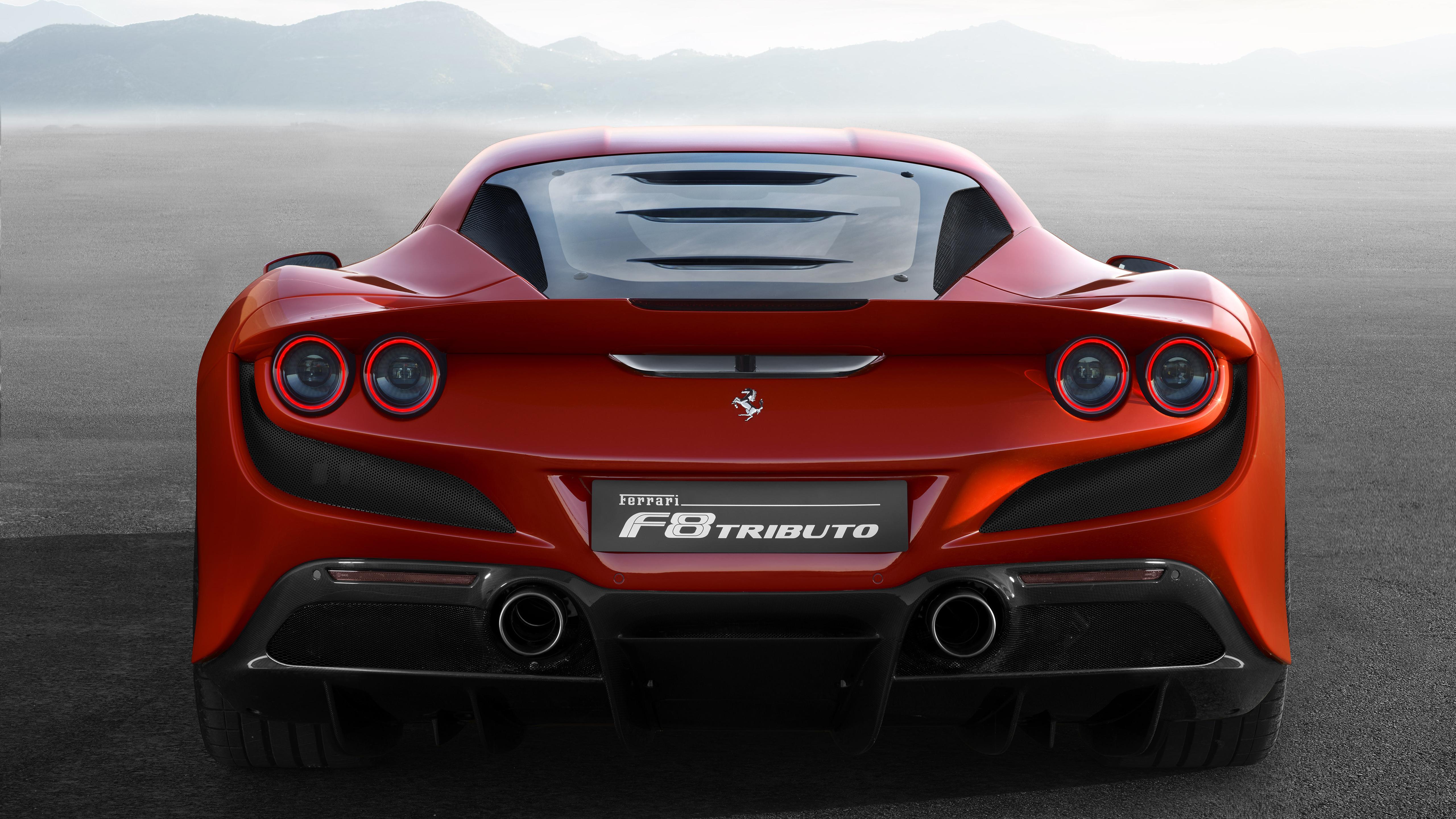 Ferrari F8 Tributo 2019 4k 5k 4 Wallpaper Hd Car Wallpapers Id 12169