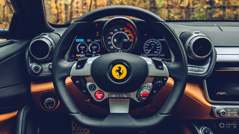 Ferrari Gtc4lusso T Interior Wallpaper