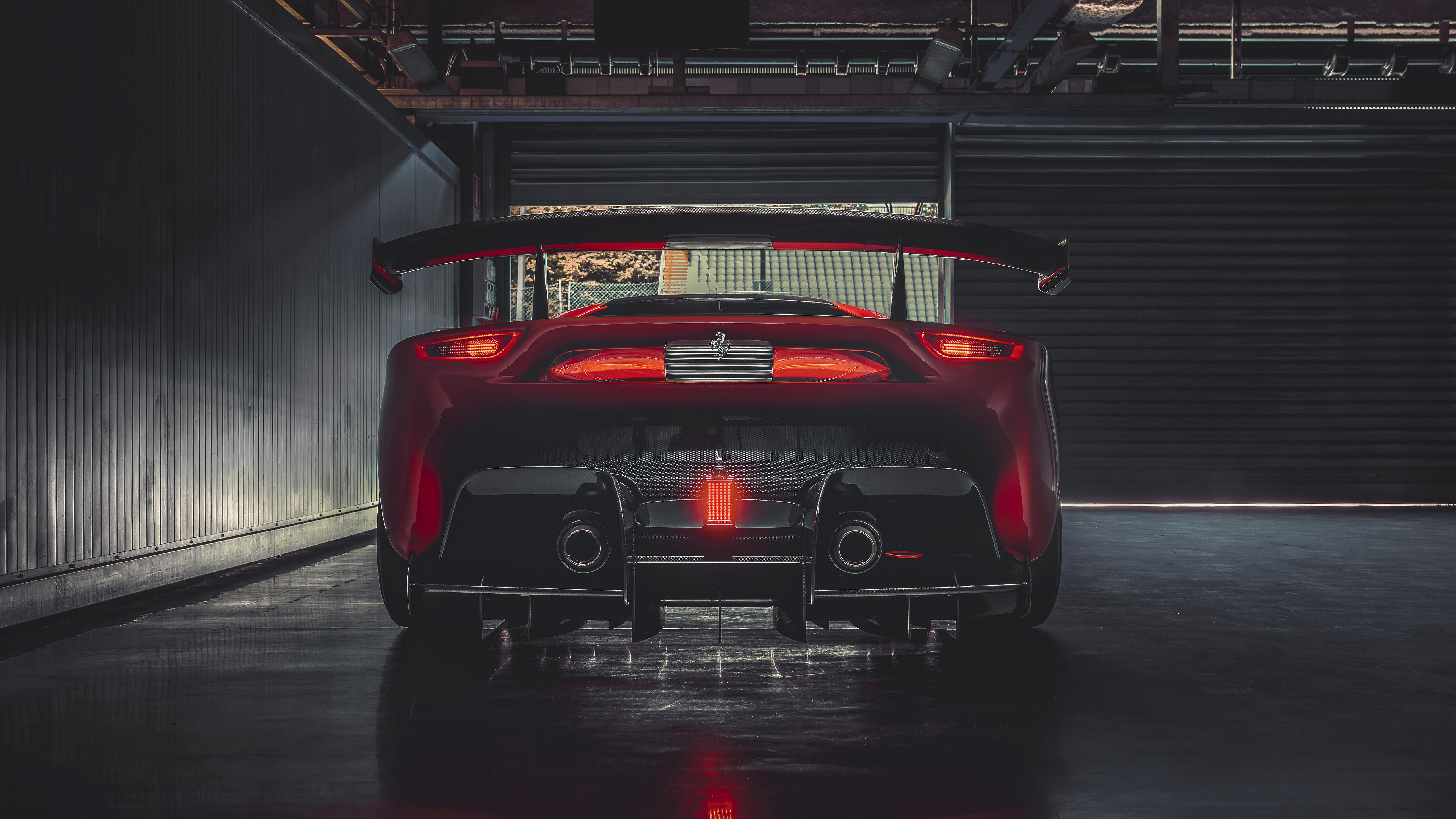 Ferrari P80c 2019 4k 2 Wallpaper Hd Car Wallpapers Id 13242