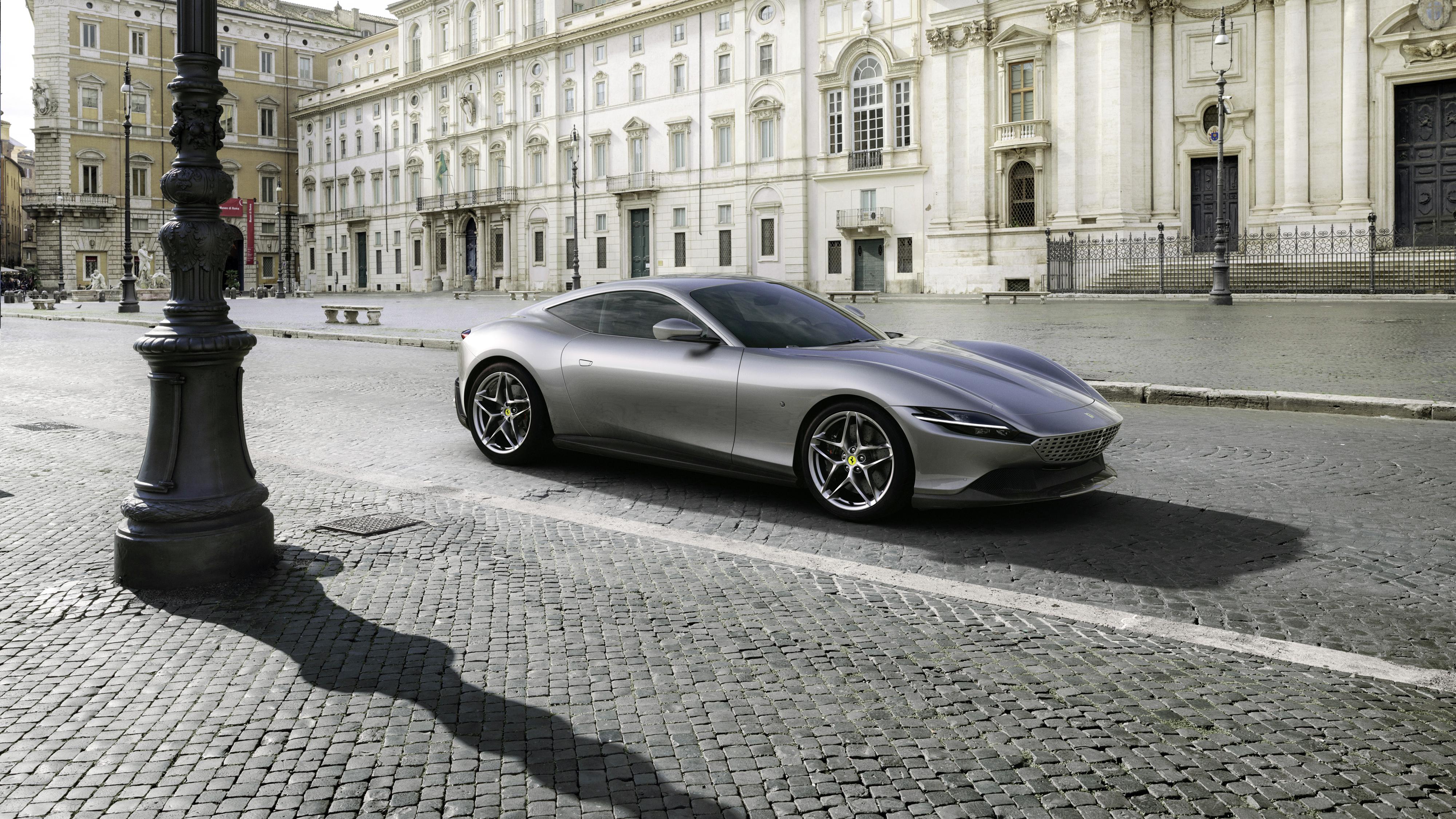 Ferrari Roma 2020 4k 5 Wallpaper Hd Car Wallpapers Id