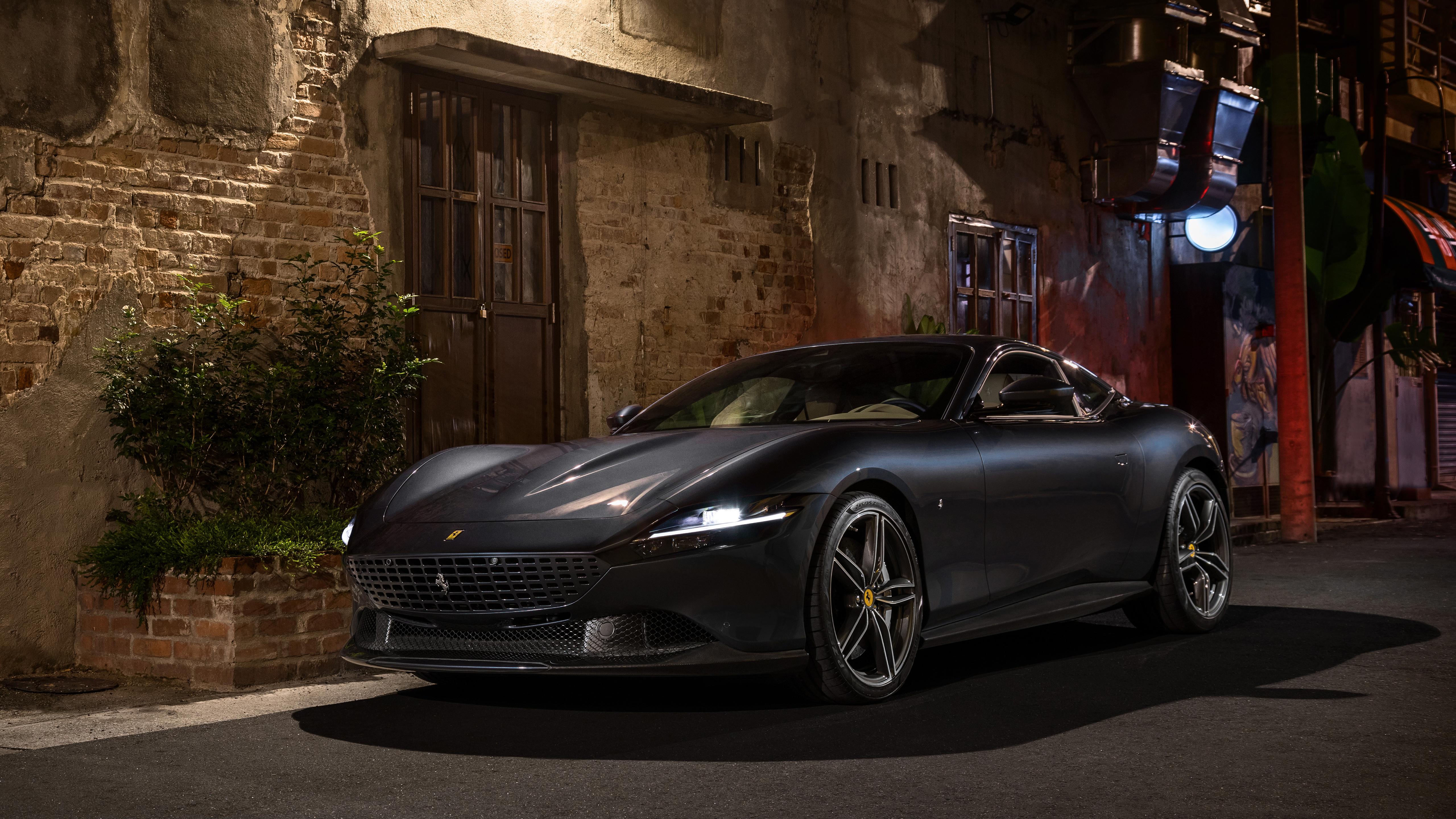 Ferrari Roma 2020 5k Wallpaper Hd Car Wallpapers Id 15140