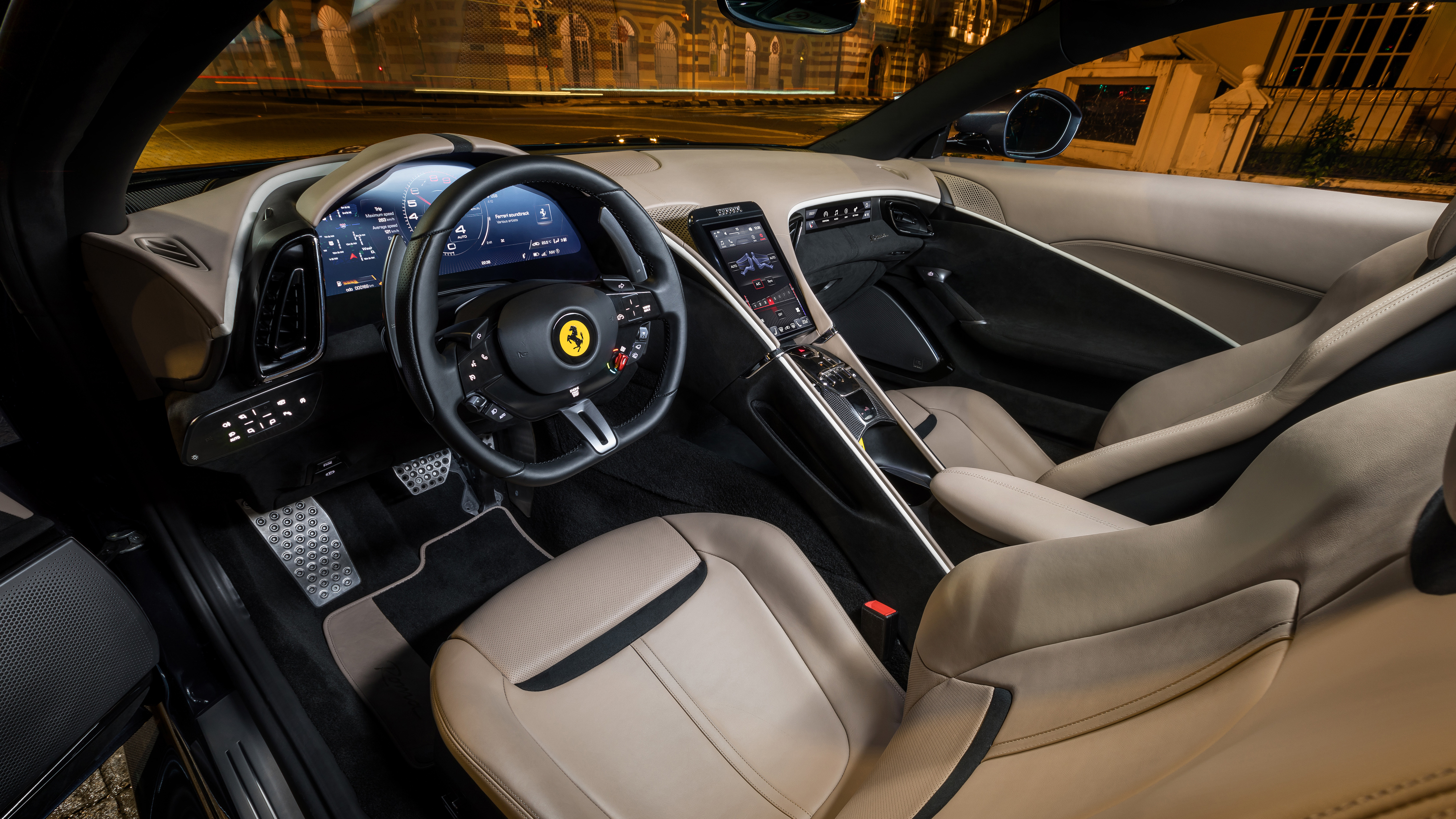 Ferrari Roma 2020 5k Interior Wallpaper Hd Car Wallpapers Id 15142