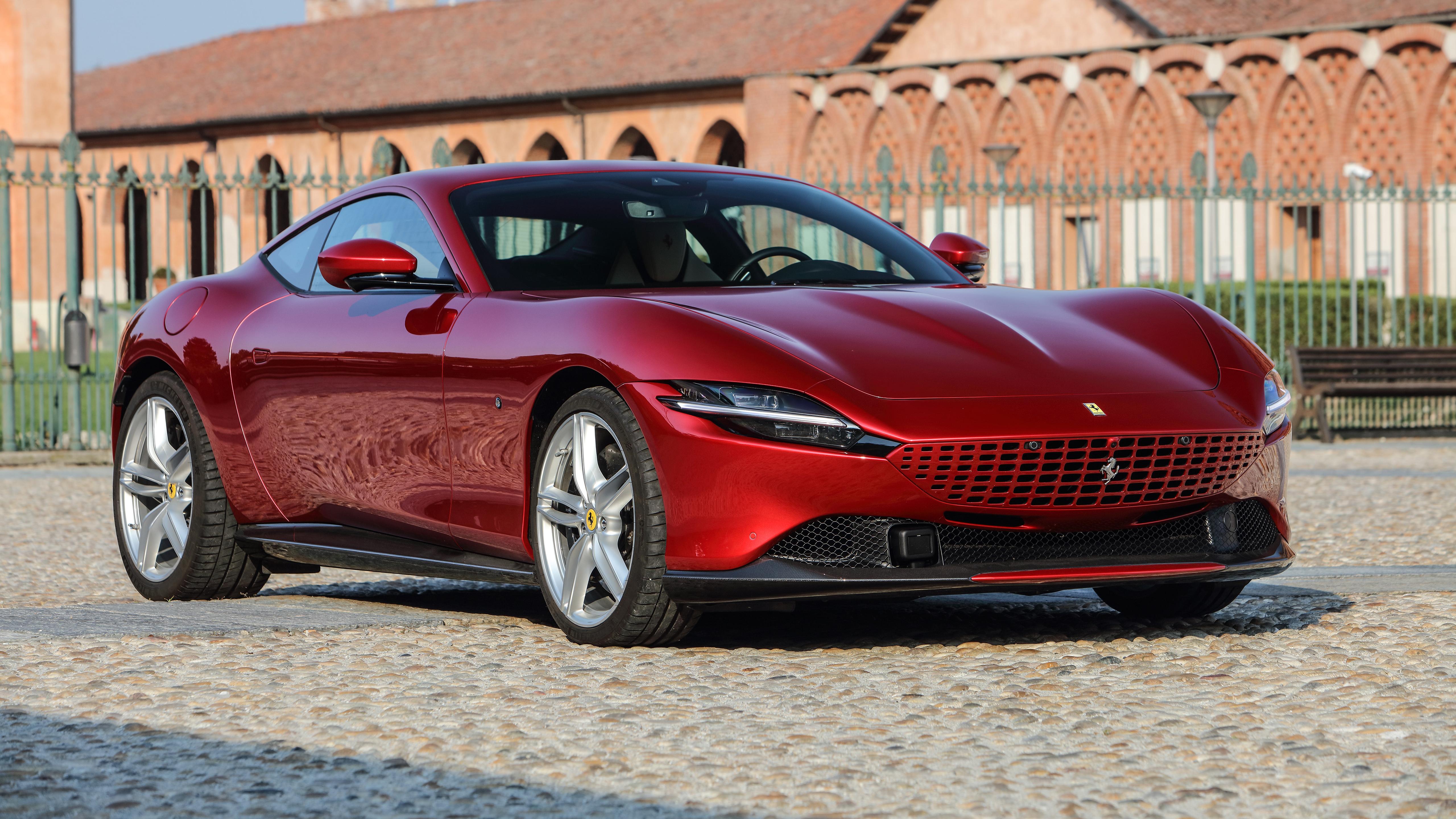 Ferrari Roma 2021 5K 6 Wallpaper