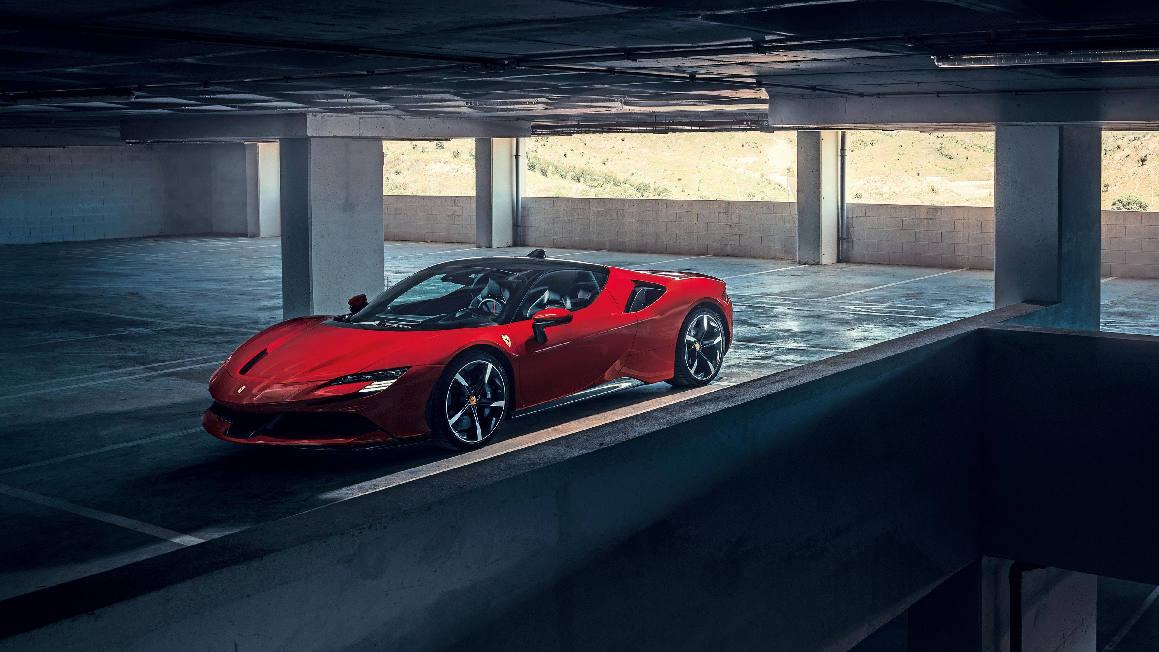 Ferrari Sf90 Stradale 2019 4k Wallpaper Hd Car Wallpapers Id 12924