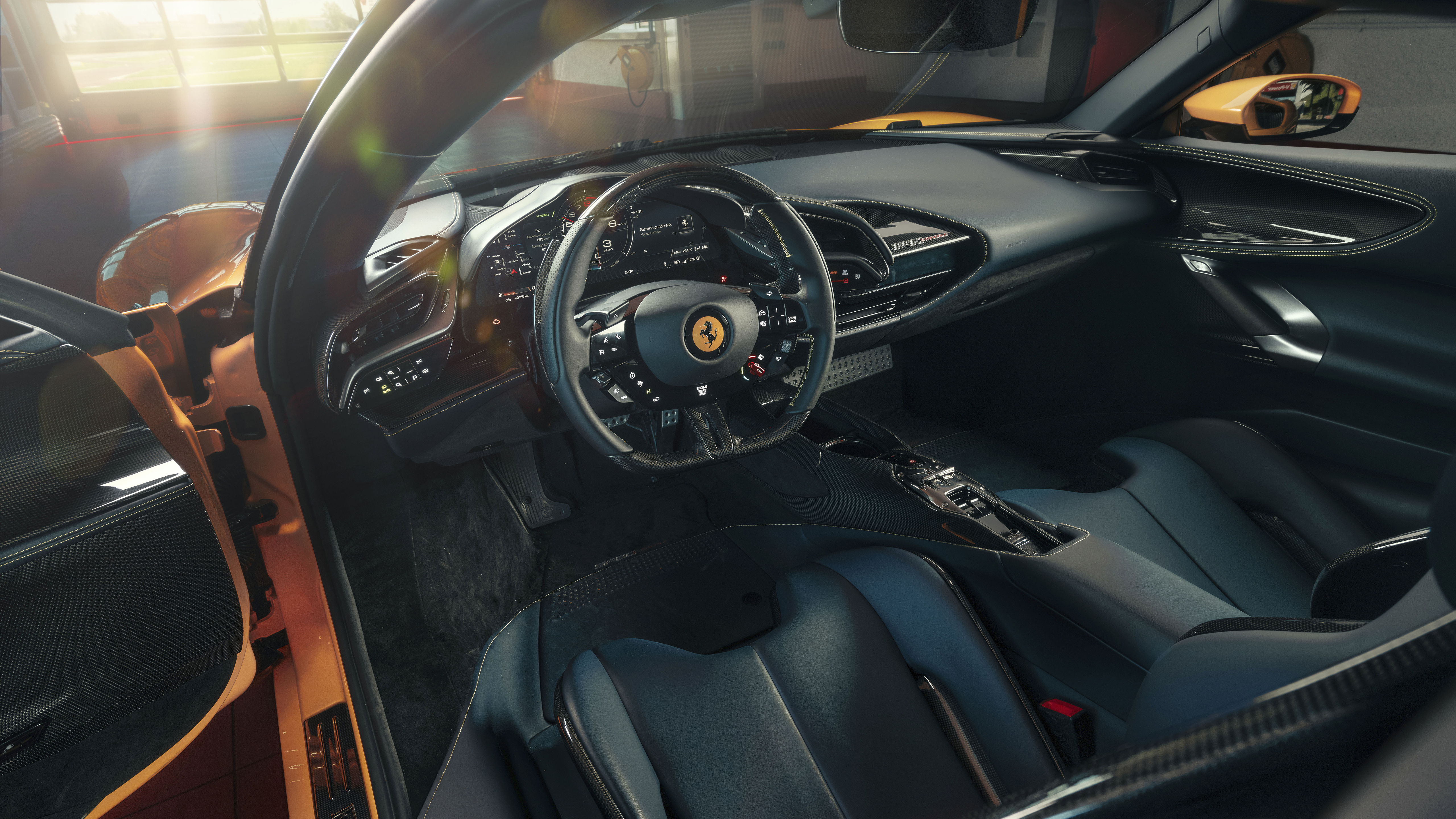 Get Ferrari Inside Wallpaper  Pics