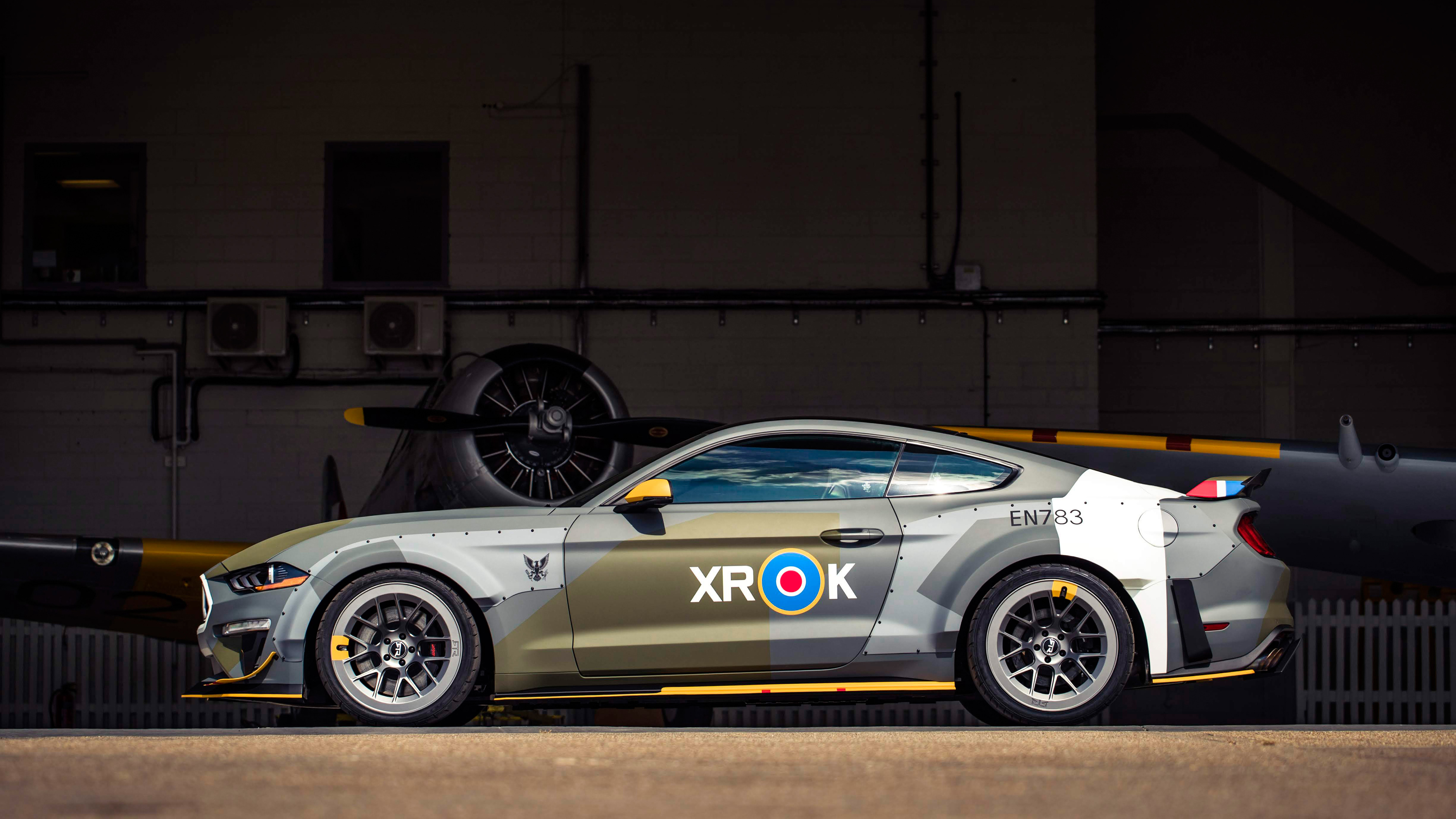Ford Eagle Squadron Mustang Gt 2018 4k 6 Wallpaper Hd Car