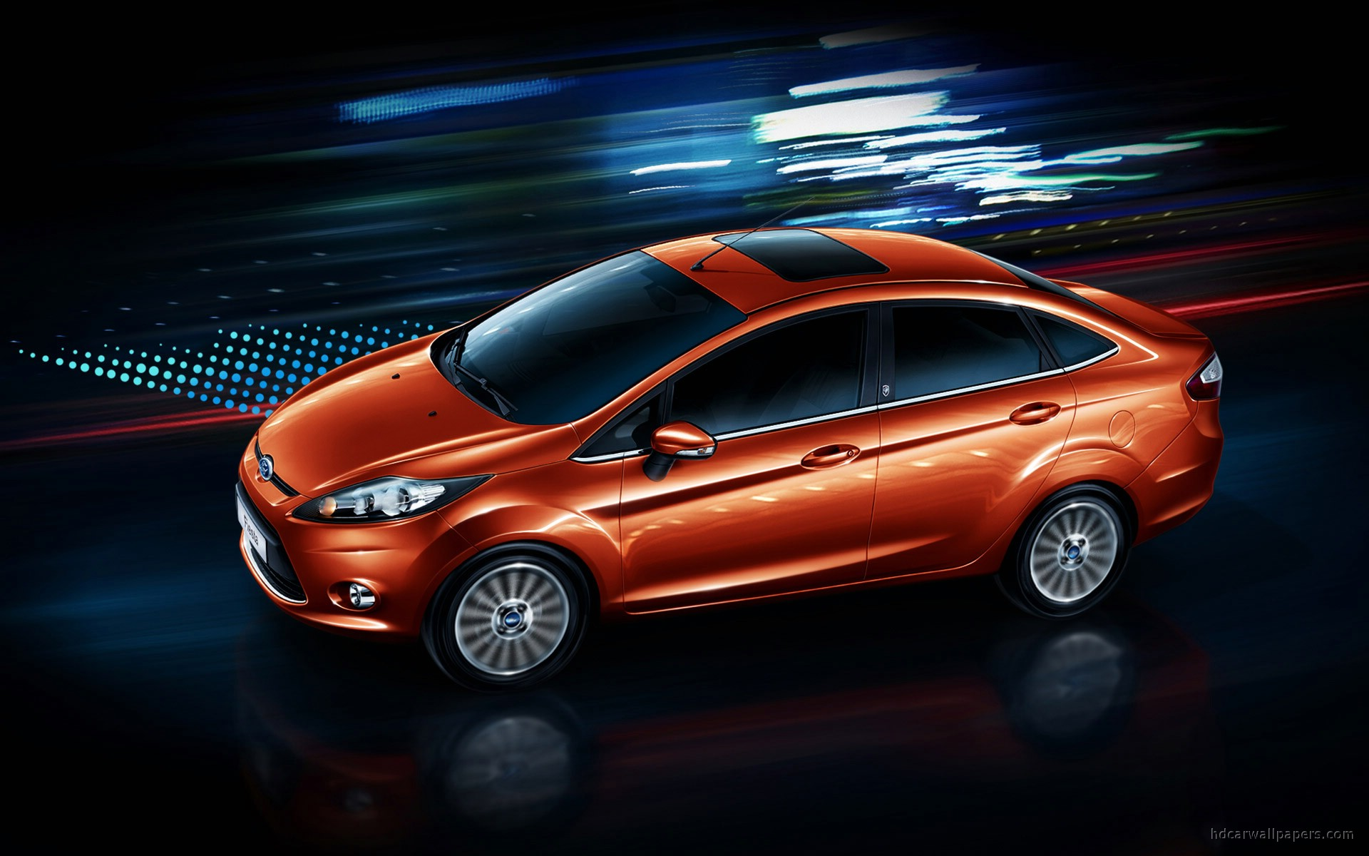 Ford Fiesta Sedan Wallpaper Hd Car Wallpapers Id 646