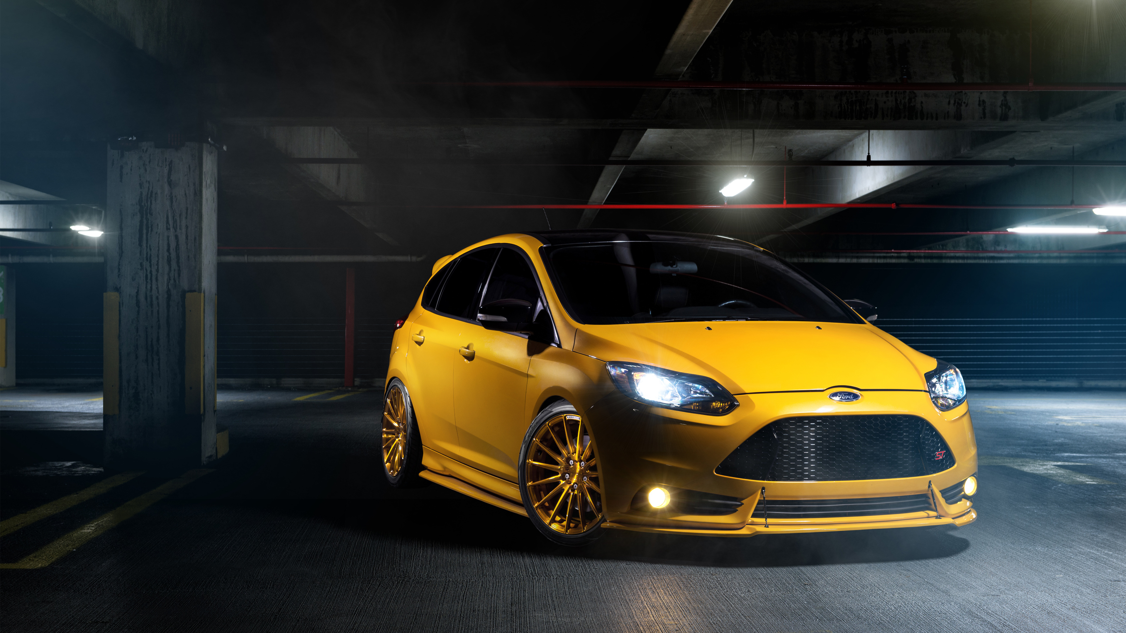 Ford Focus St Wallpaper Hd Car Wallpapers