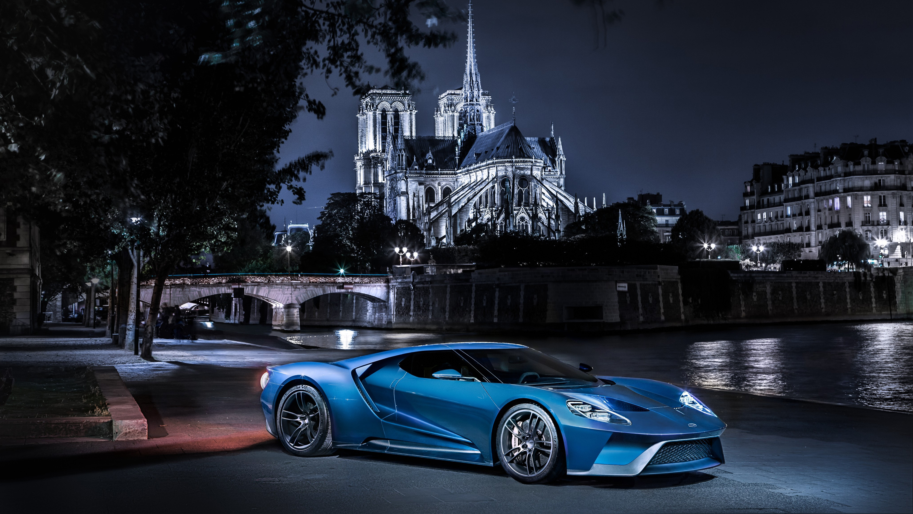Ford Gt Supercar Wallpaper Hd Car Wallpapers Id 6215