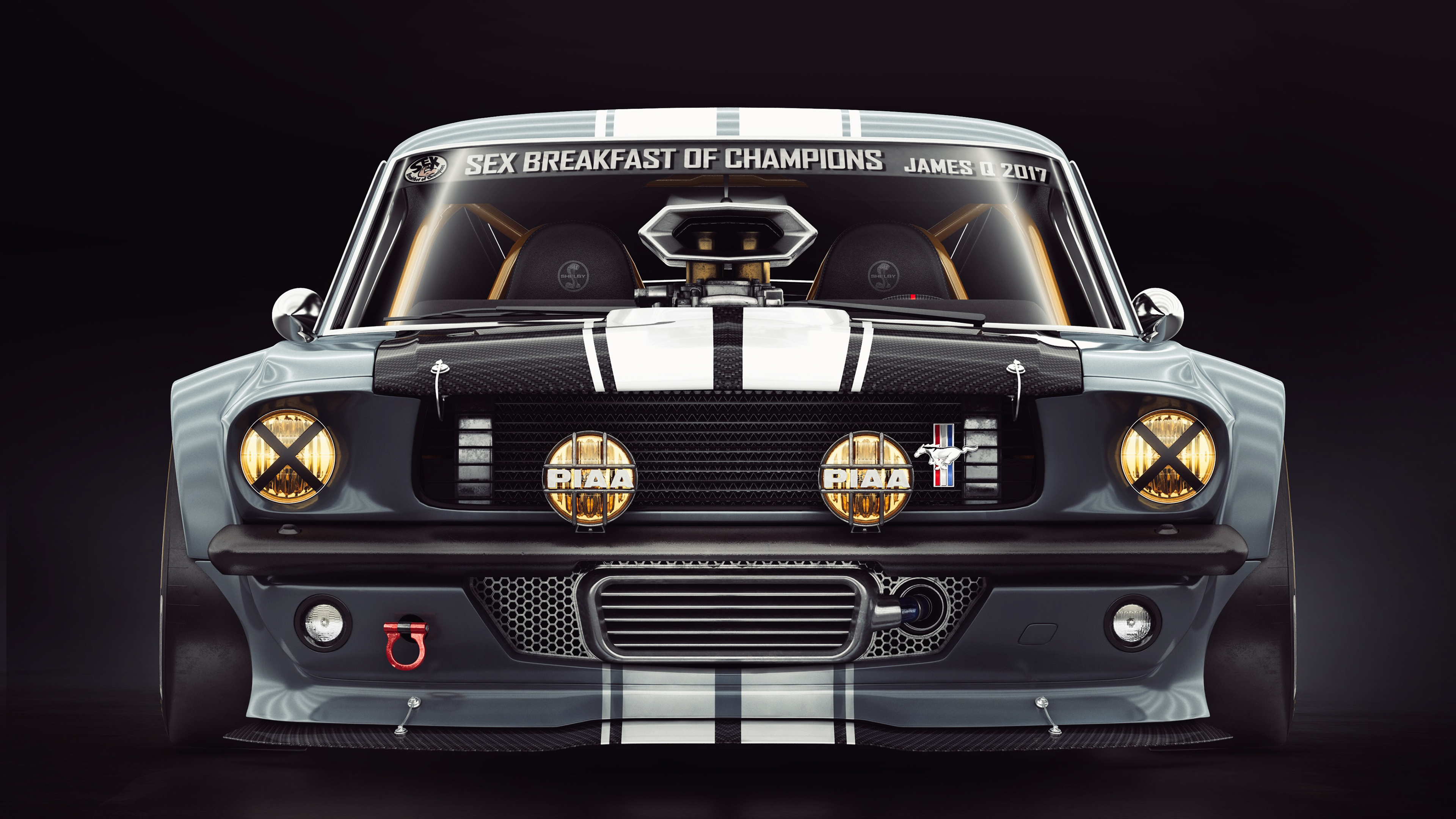 Ford Mustang 1965 4k Wallpaper Hd Car Wallpapers Id 12360