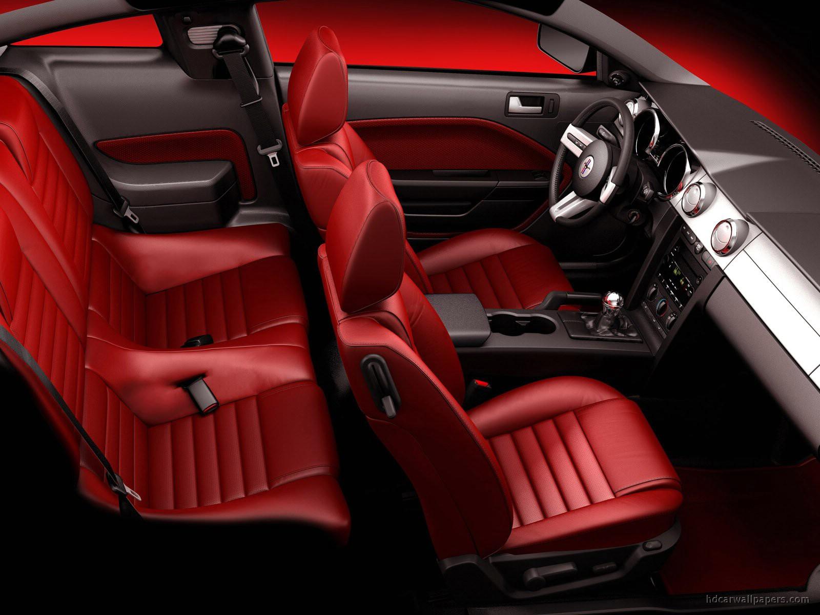 Ford mustang 2005 interior